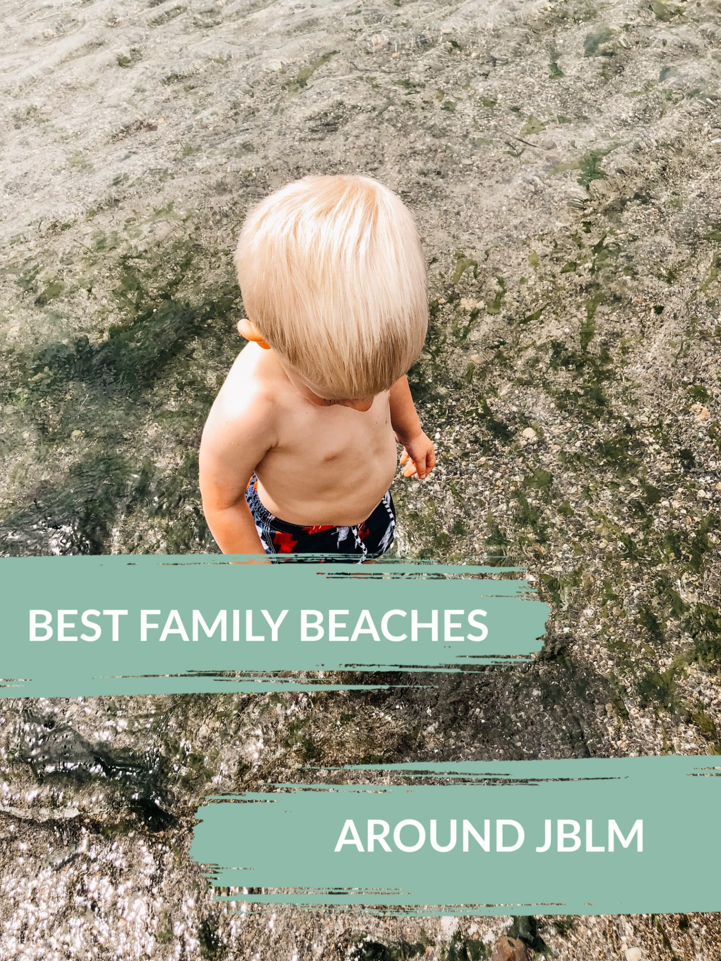 kid-friendly beaches near jblm