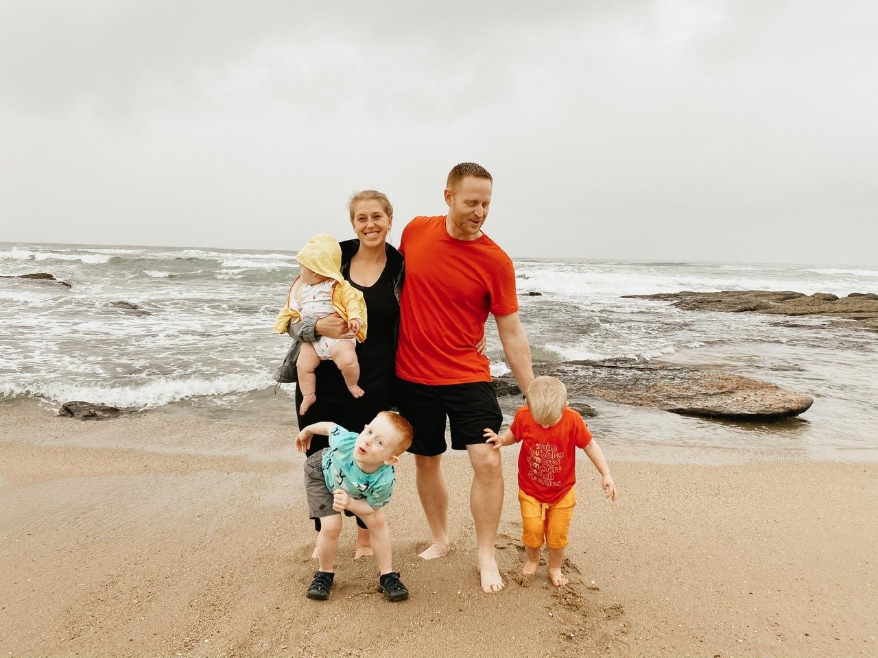 visiting Shelly beach in KwaZulu-Natal
