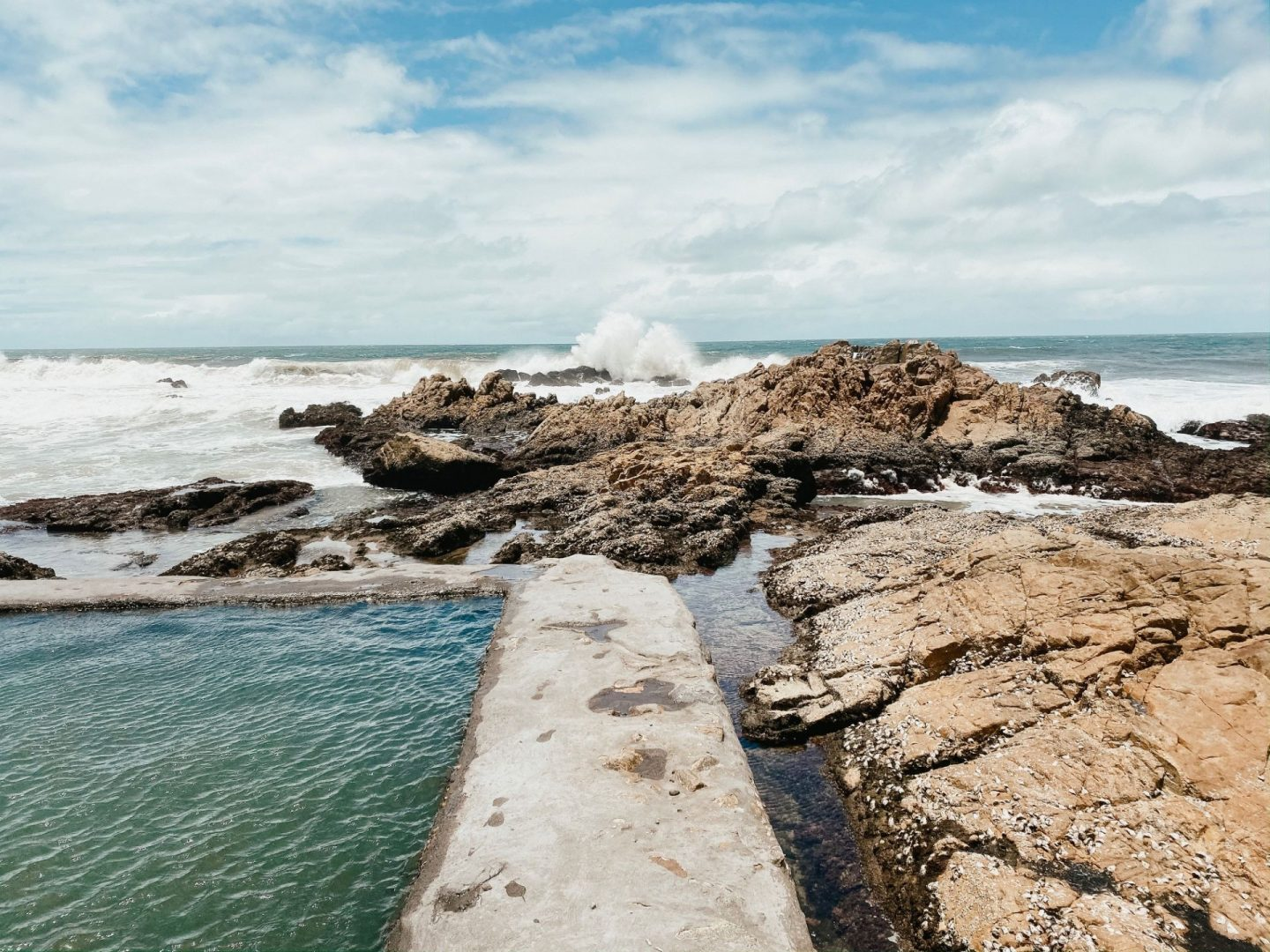 tidal pools in south africa