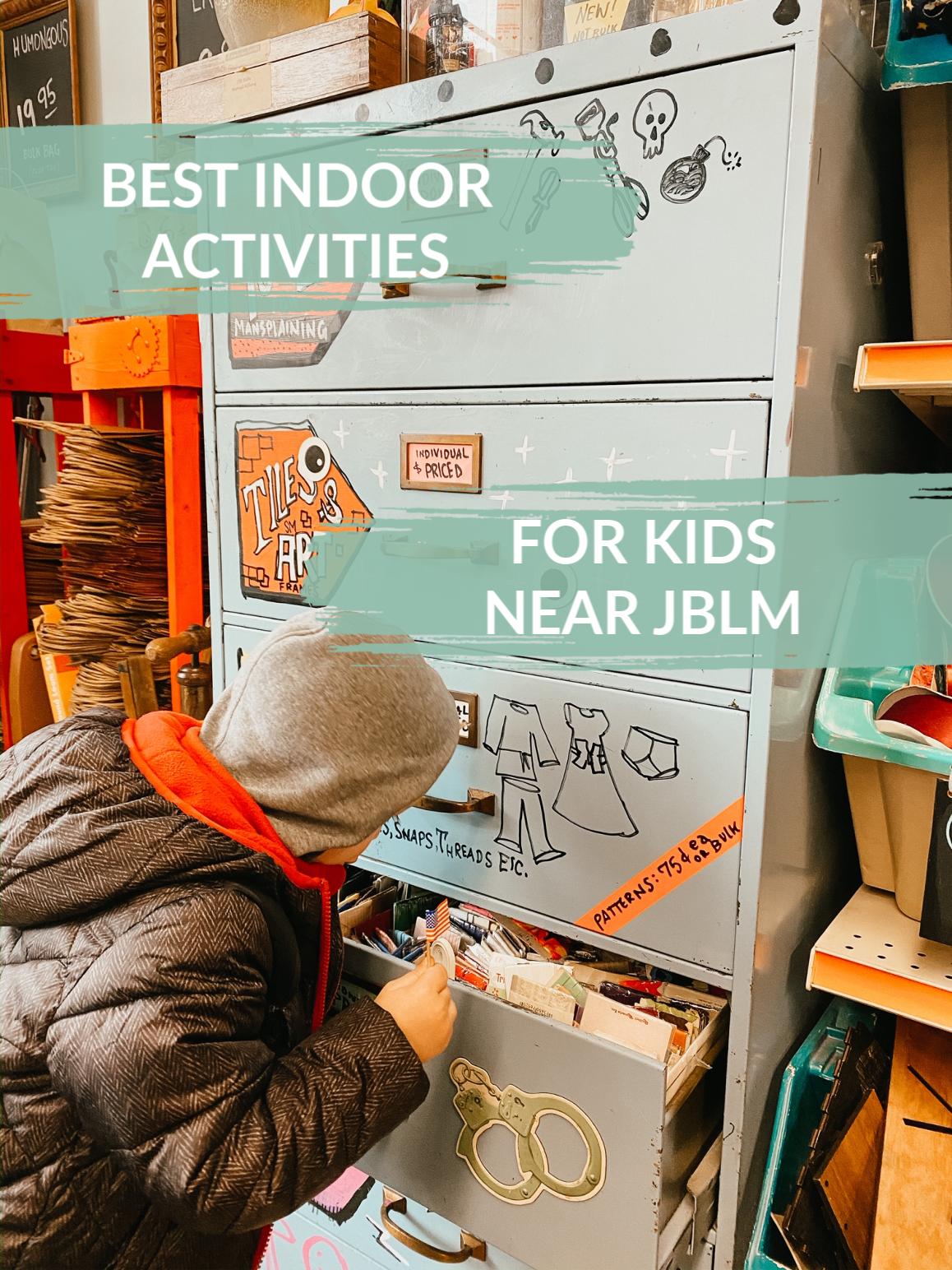 best indoor kids' activities near jblm