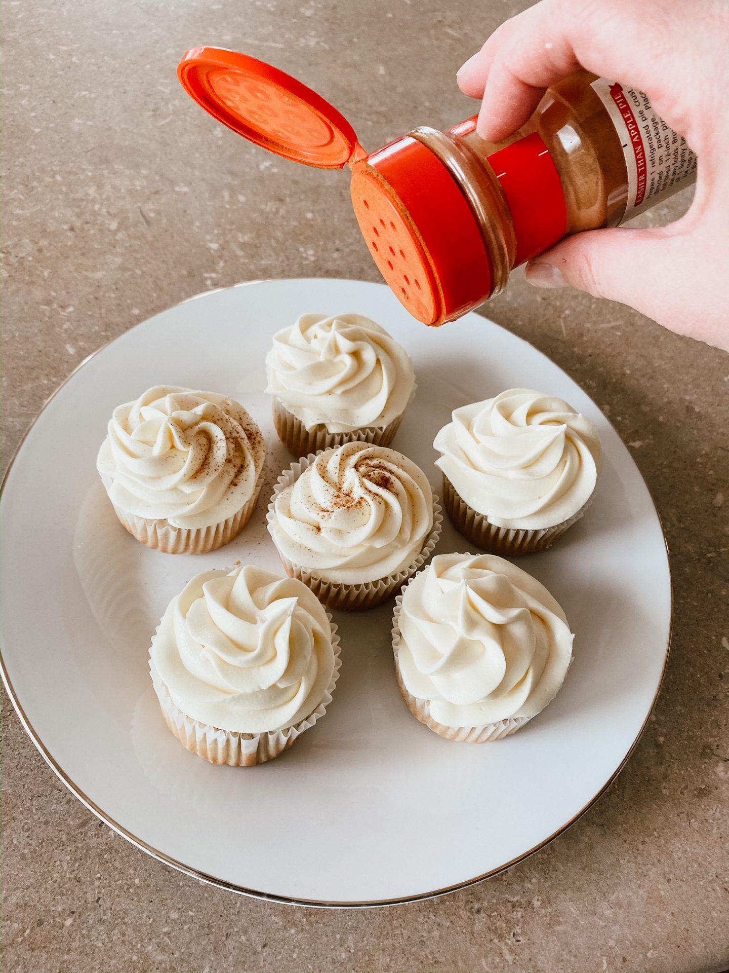 melktert cupcakes