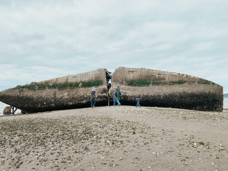nisqually beach shipwreck