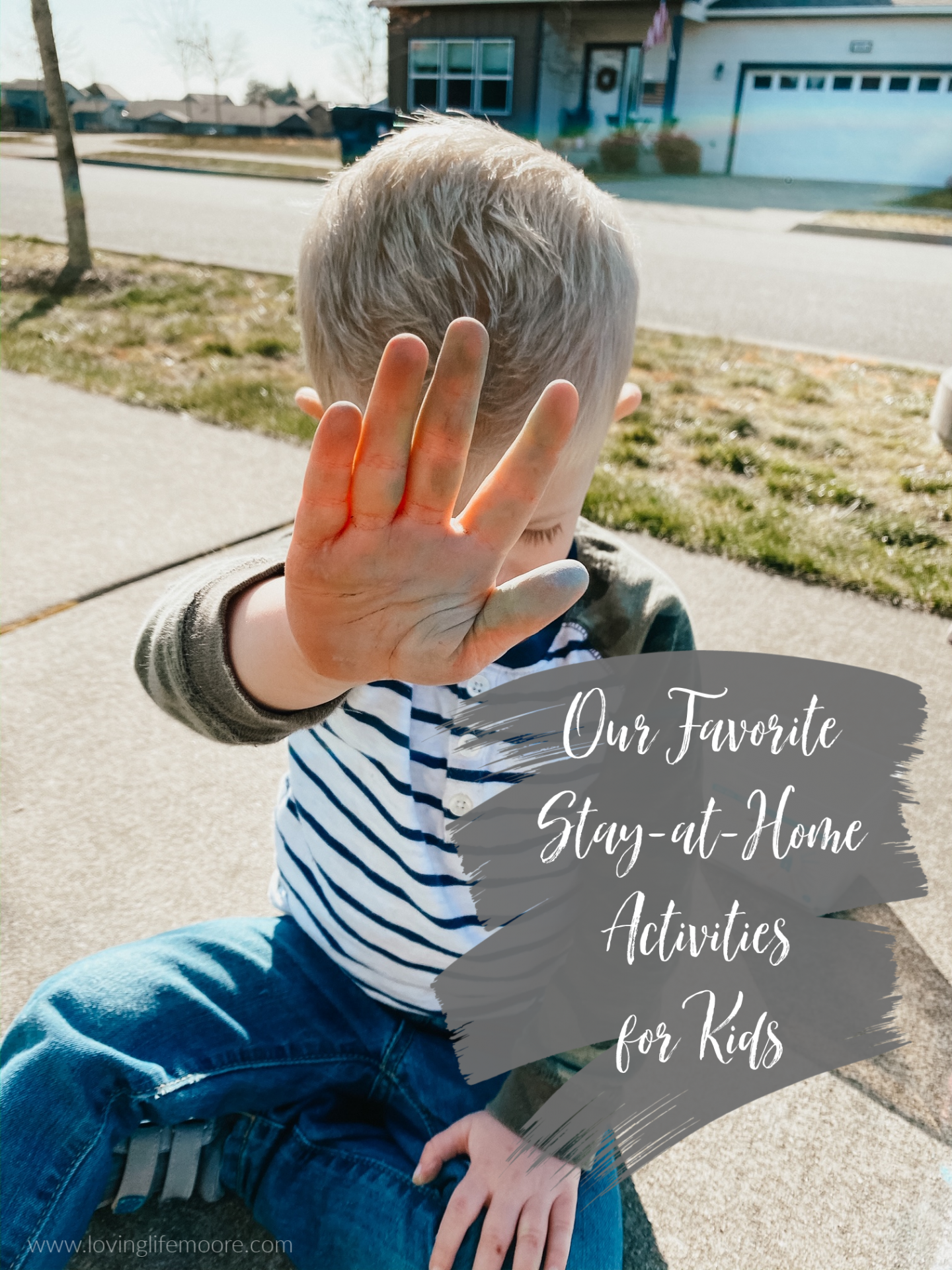 our favorite stay-at-home activities for kids