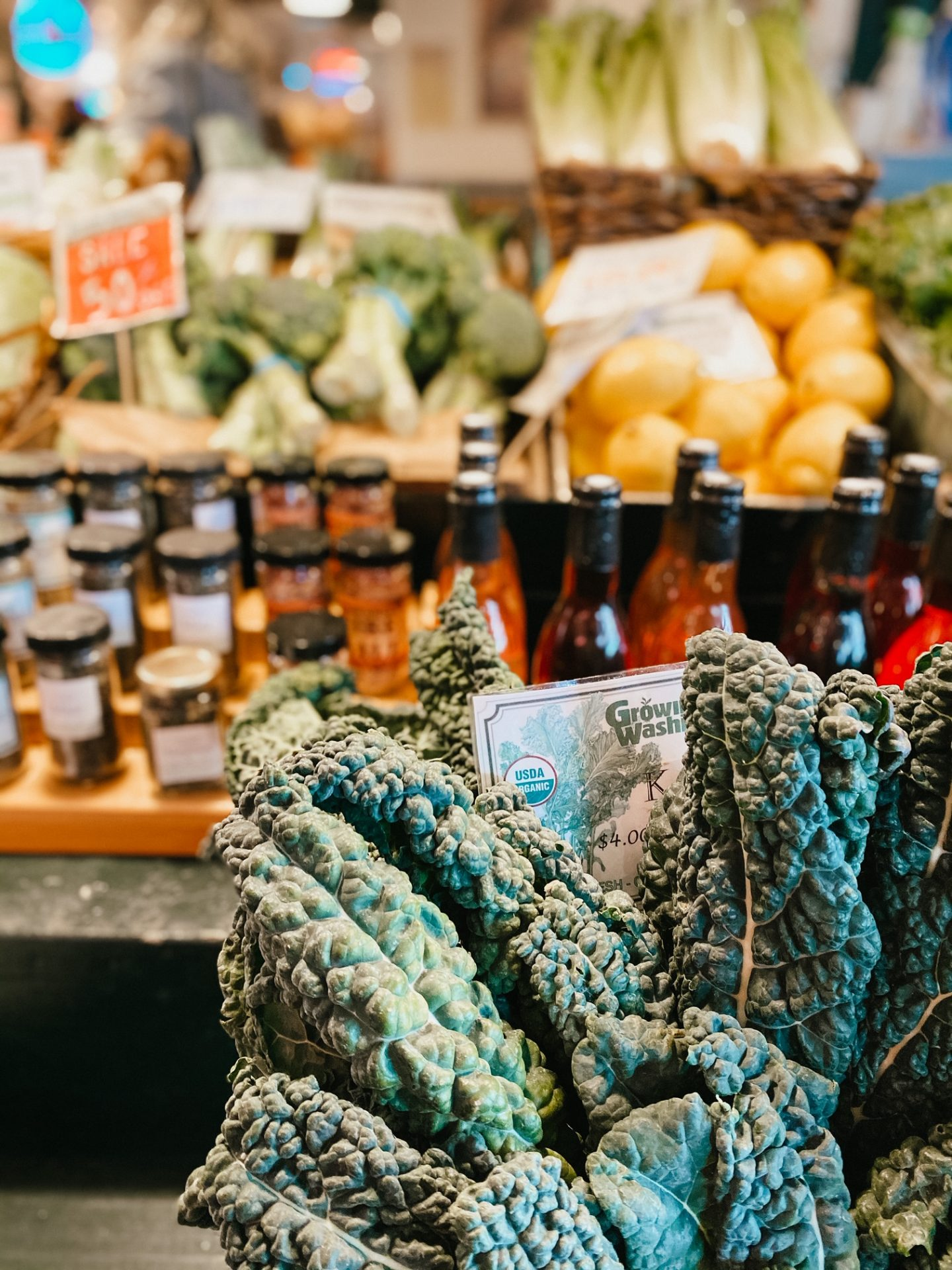 pike's place produce