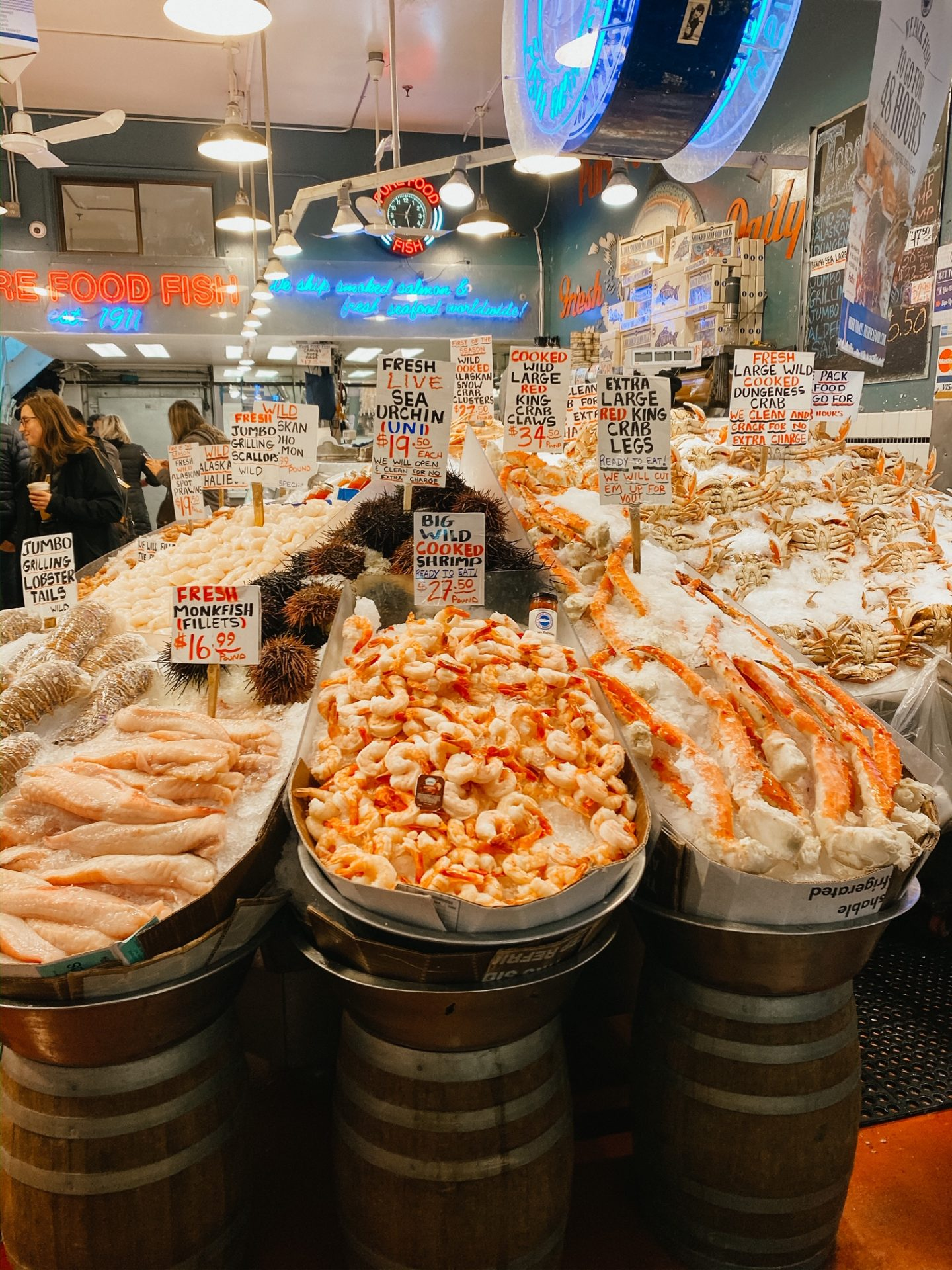 pike's place seafood
