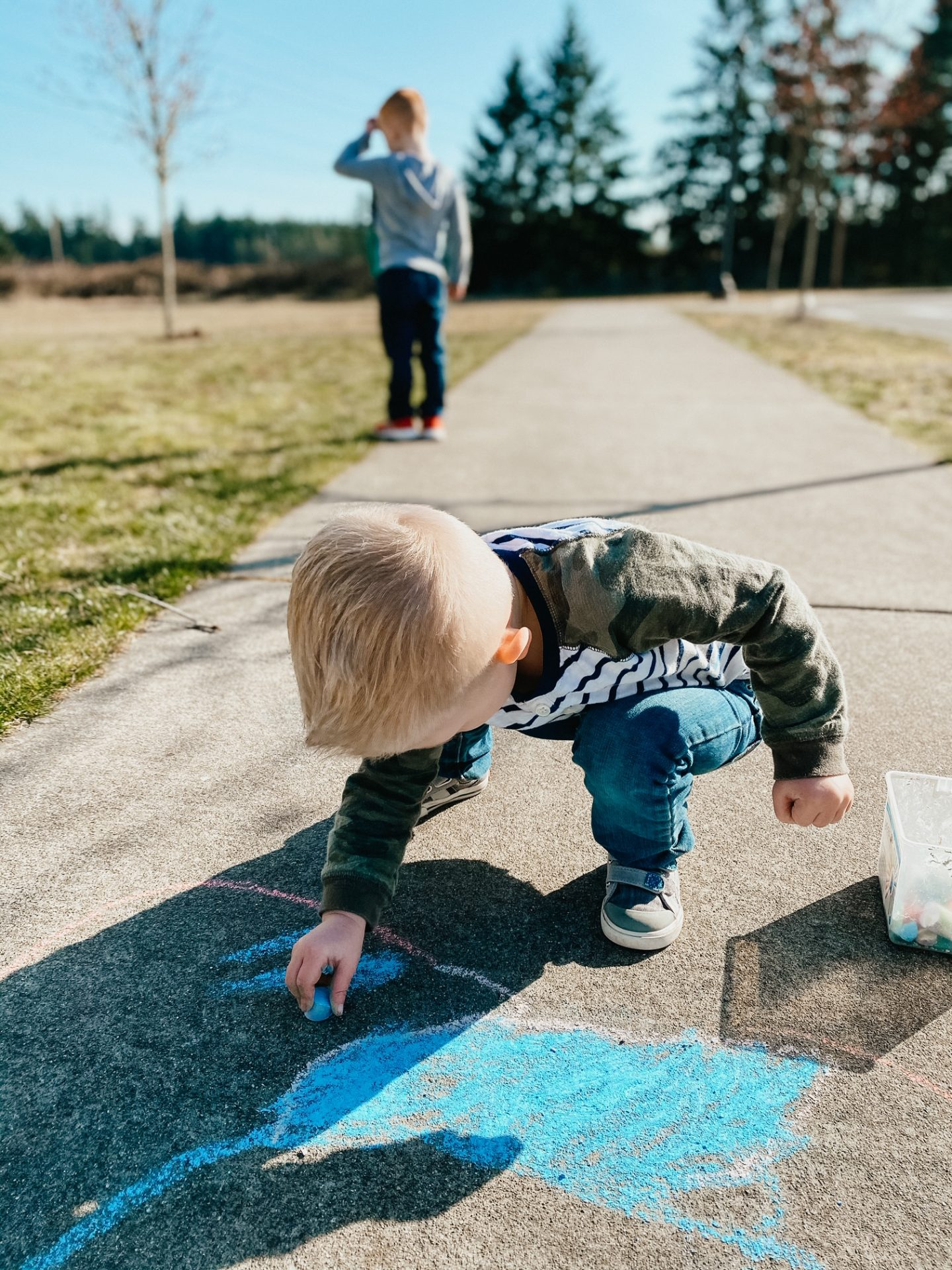 social distancing kids