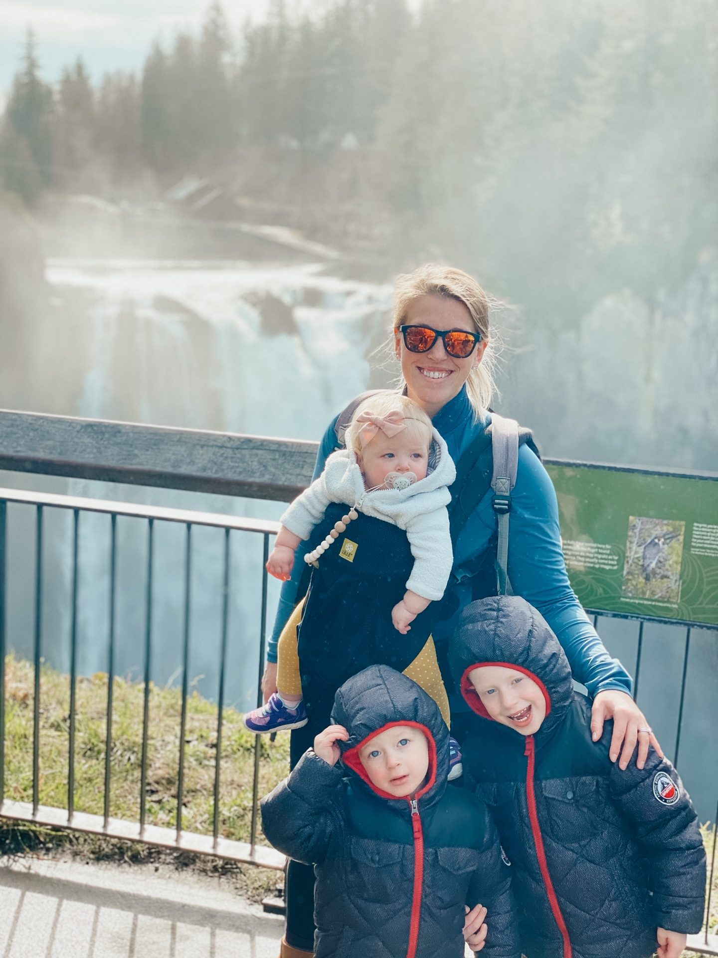 visiting snoqualmie falls