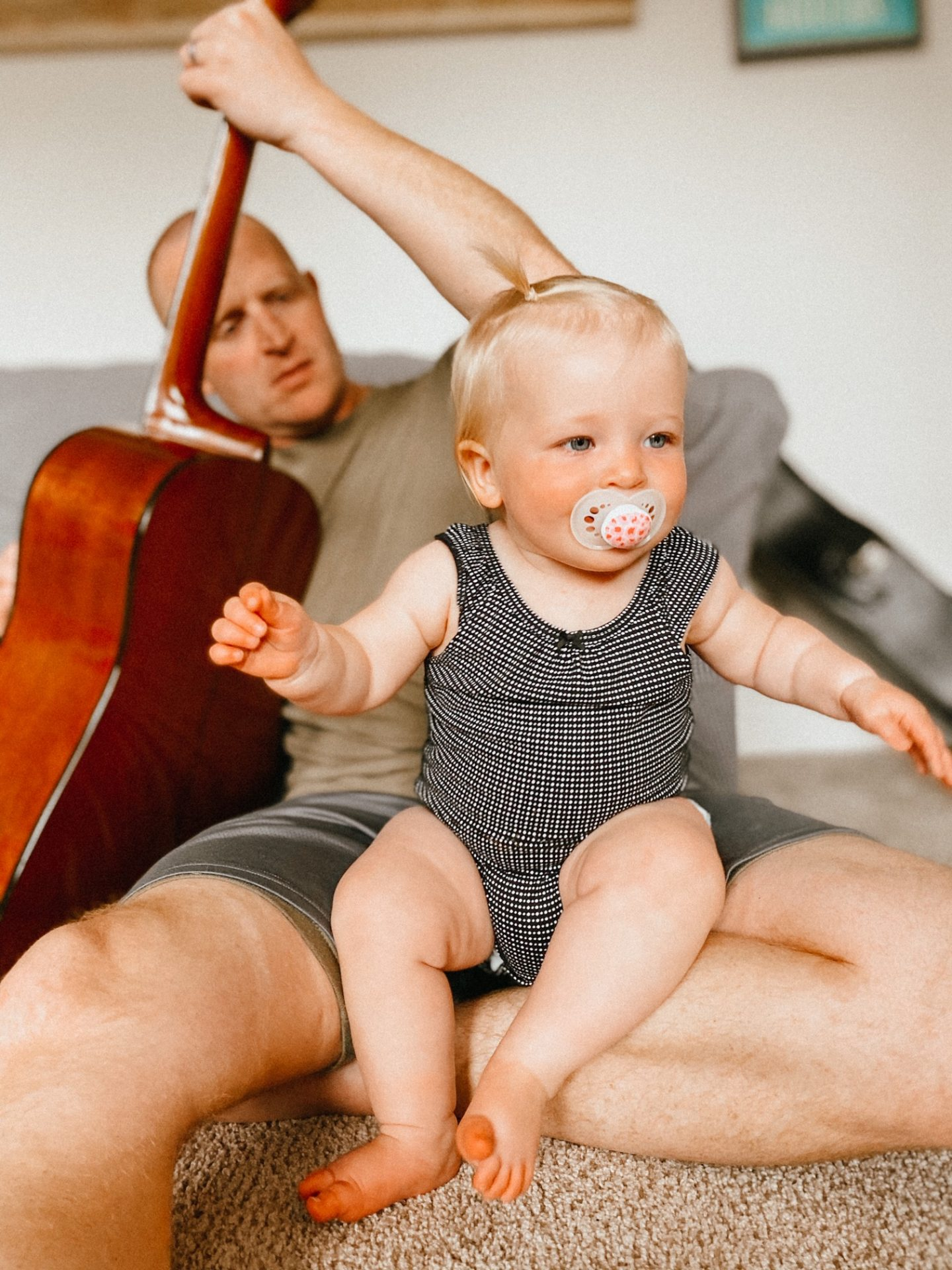 music time with daddy