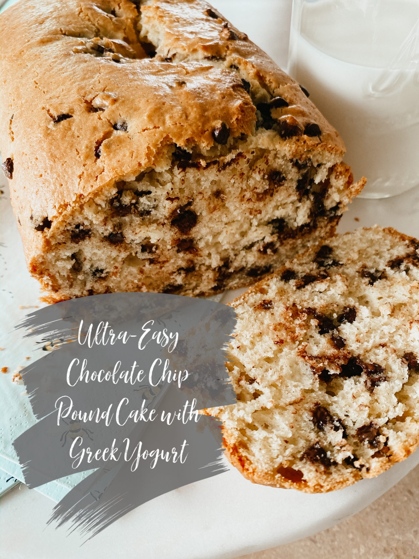 easiest chocolate chip pound cake recipe