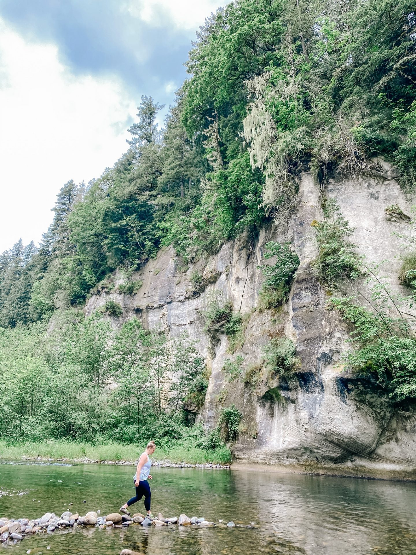green river gorge swimming
