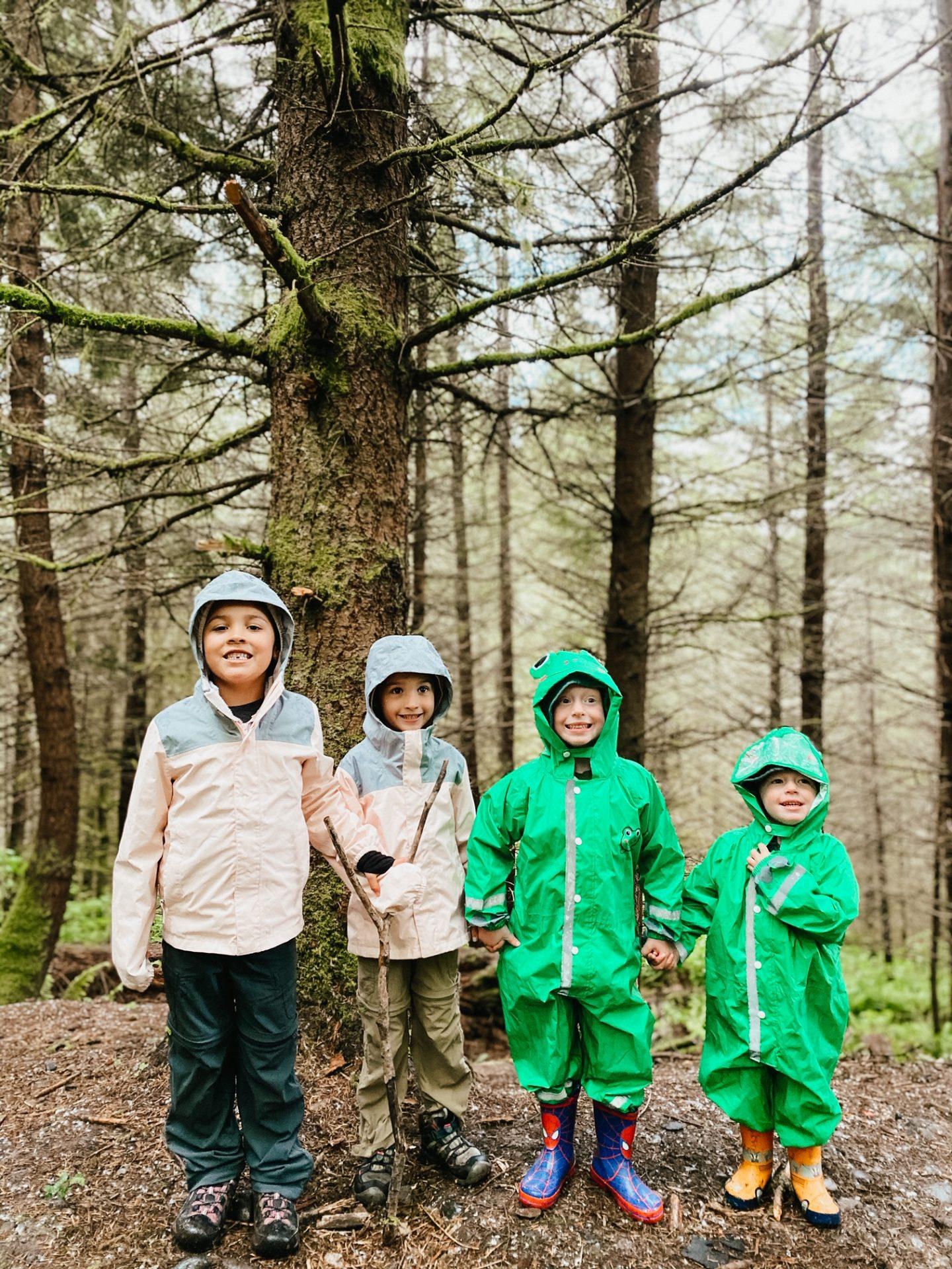 best kids rain gear