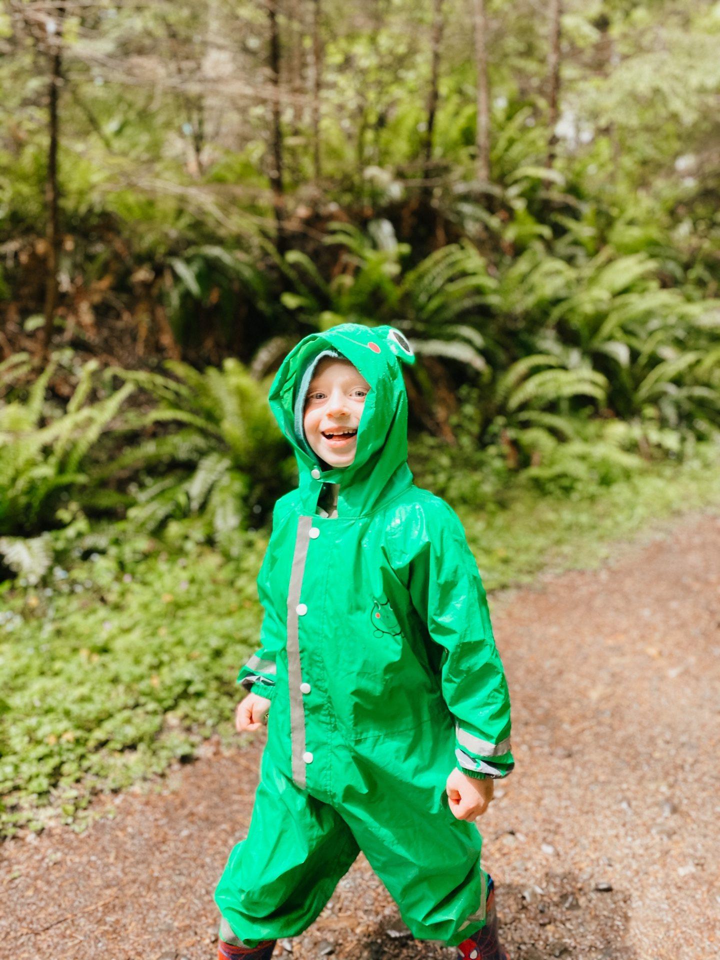 full body rain suit