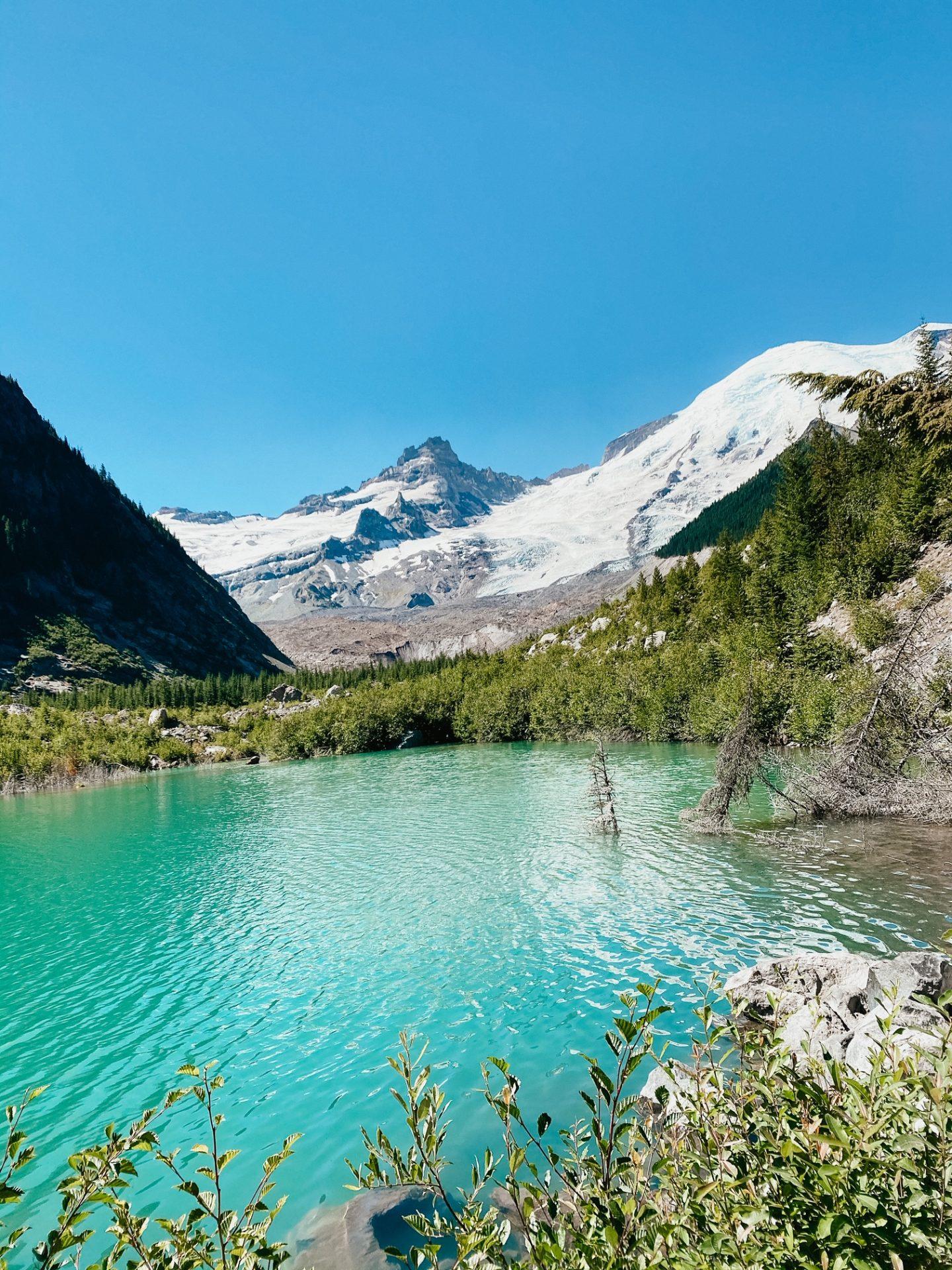 emmons moraine glacier