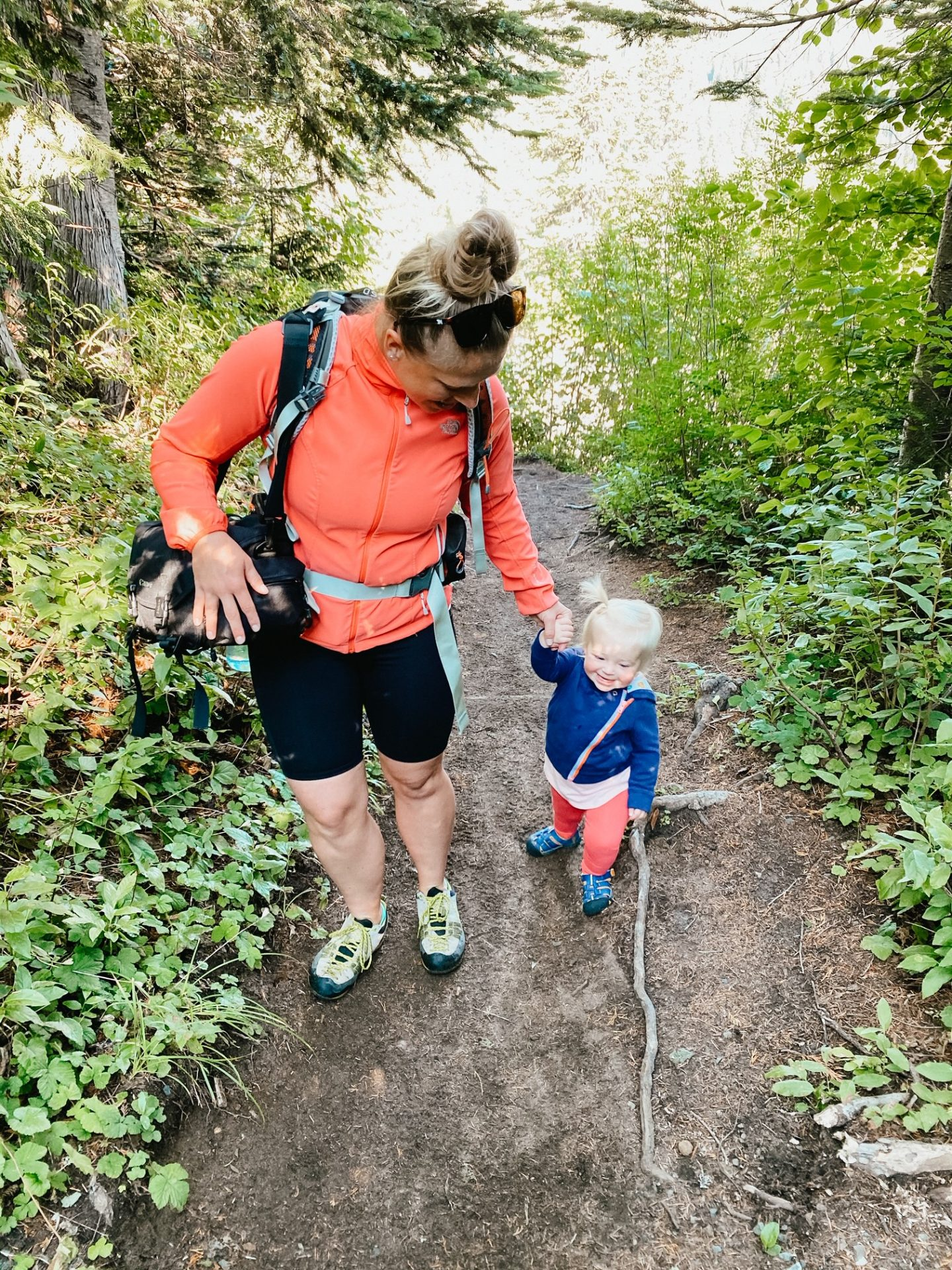 hiking with young kids