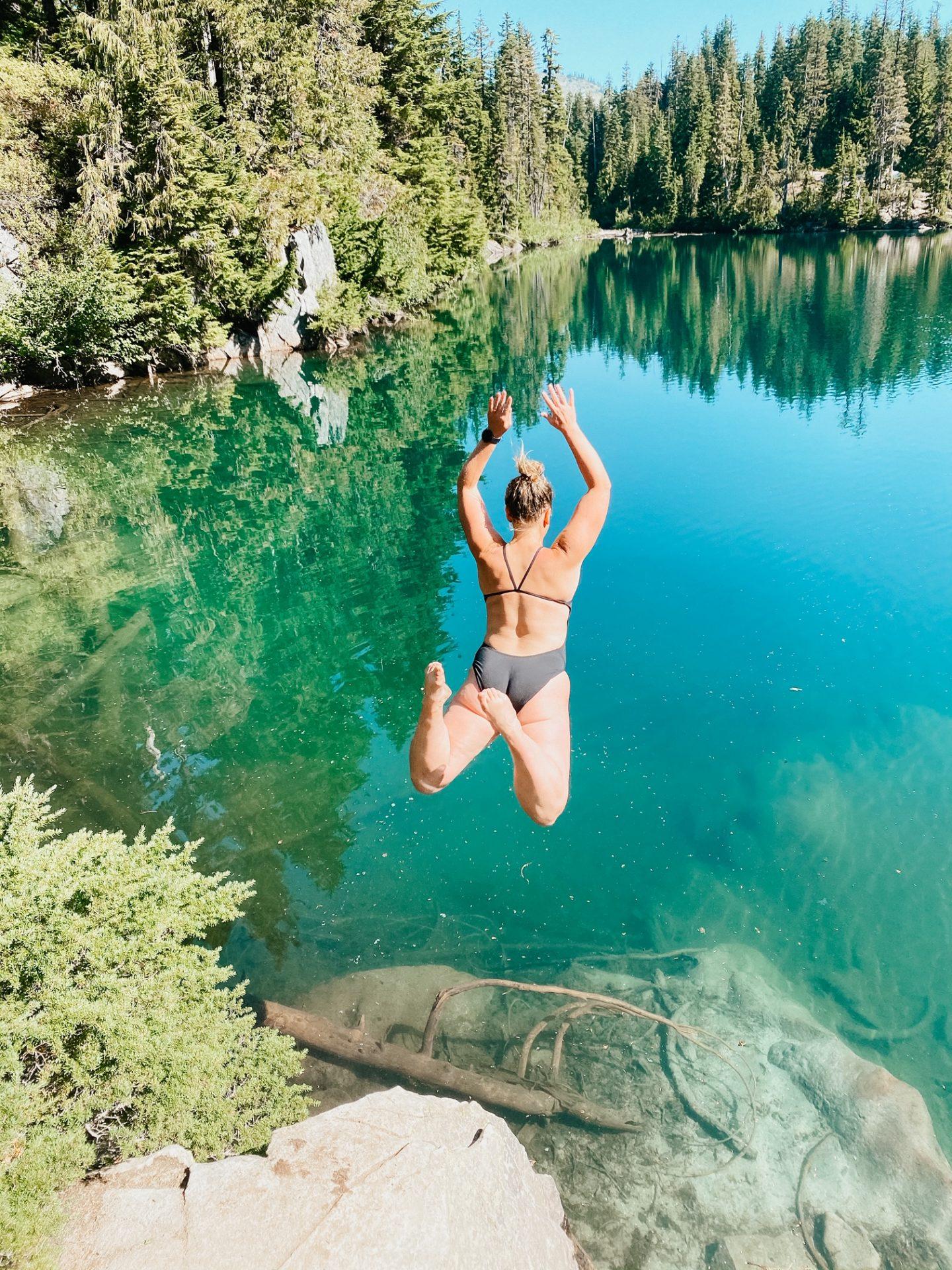 swimming mt. rainier national park