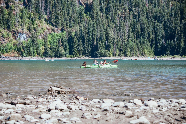 kayaking kids