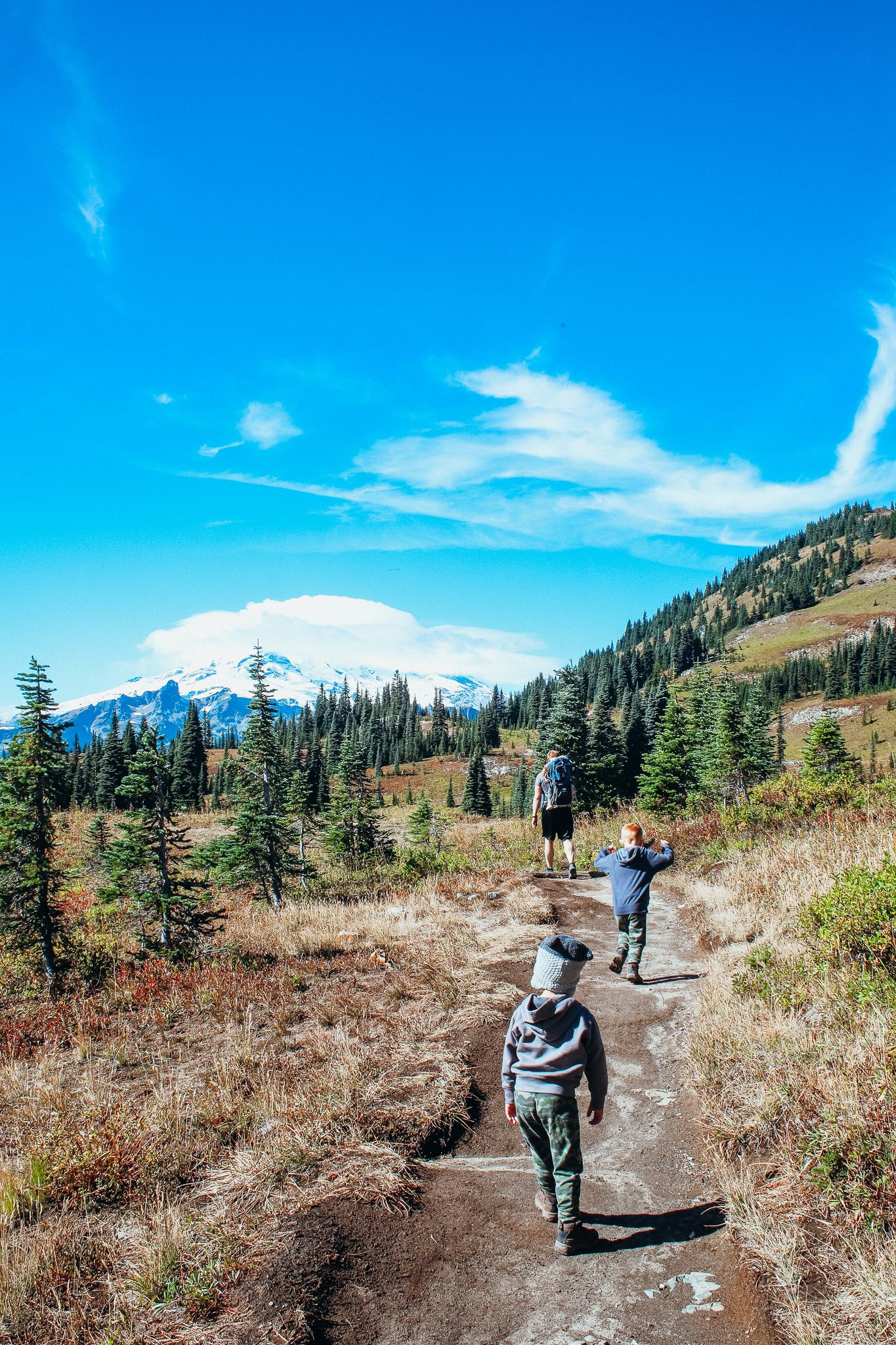 hiking naches peak loop