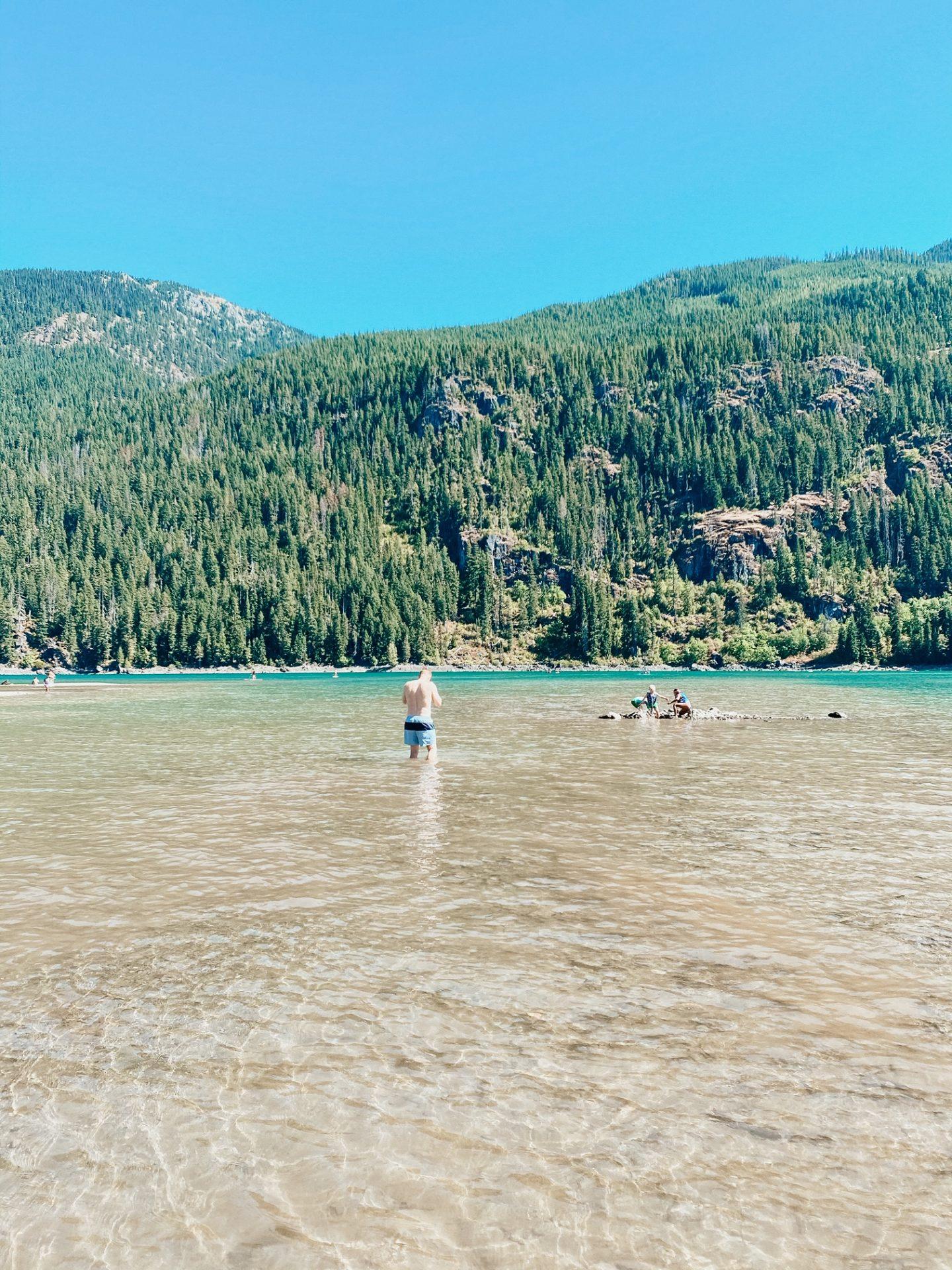 kayaking at kachess lake