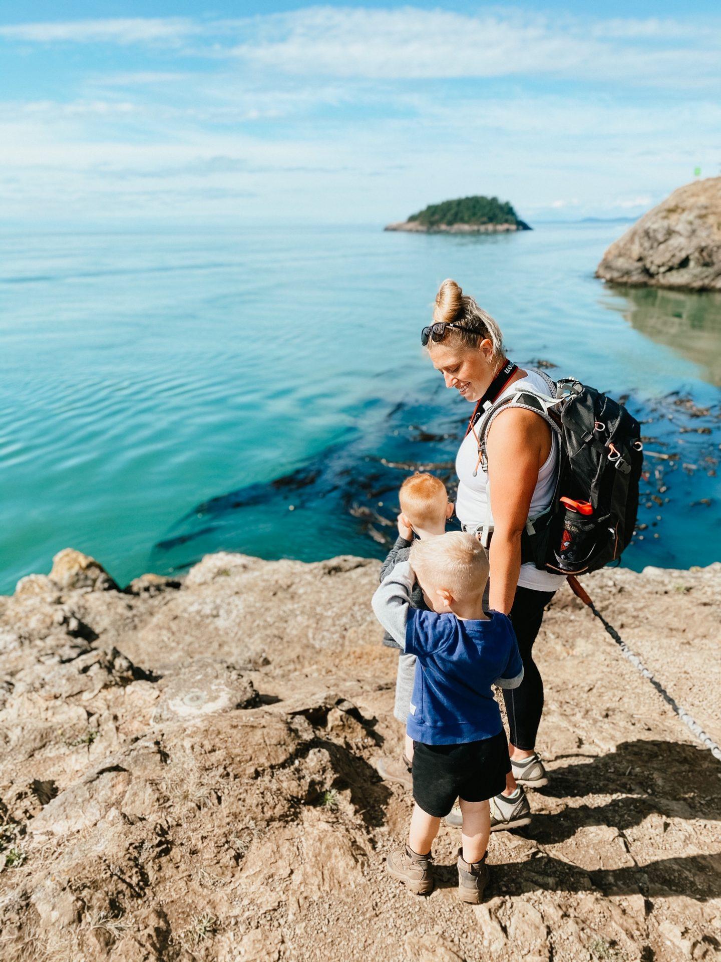 kid friendly hikes deception pass
