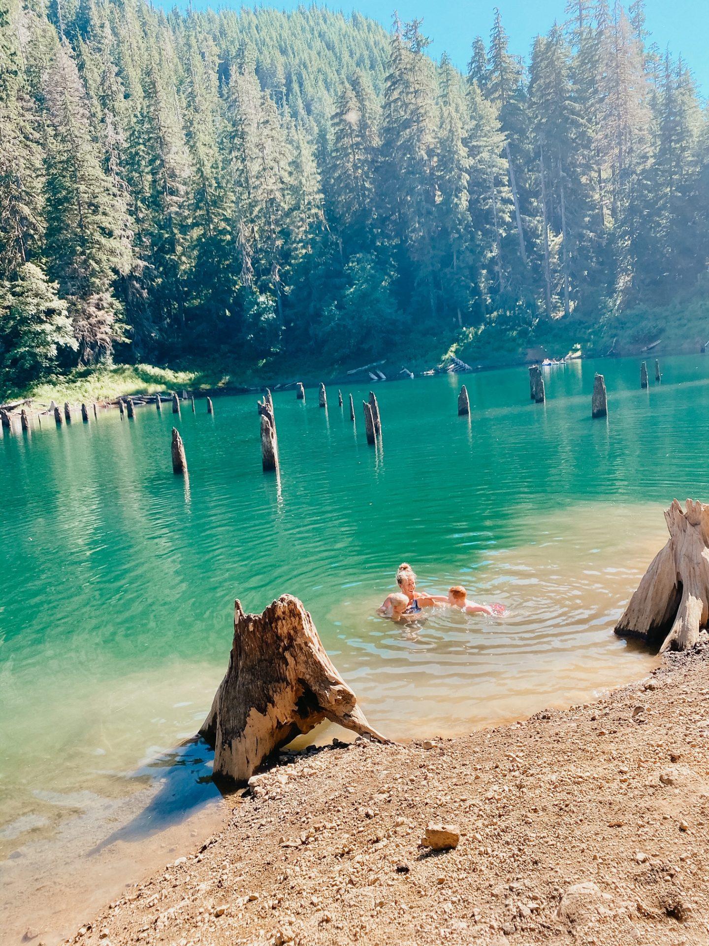 spider lake hike