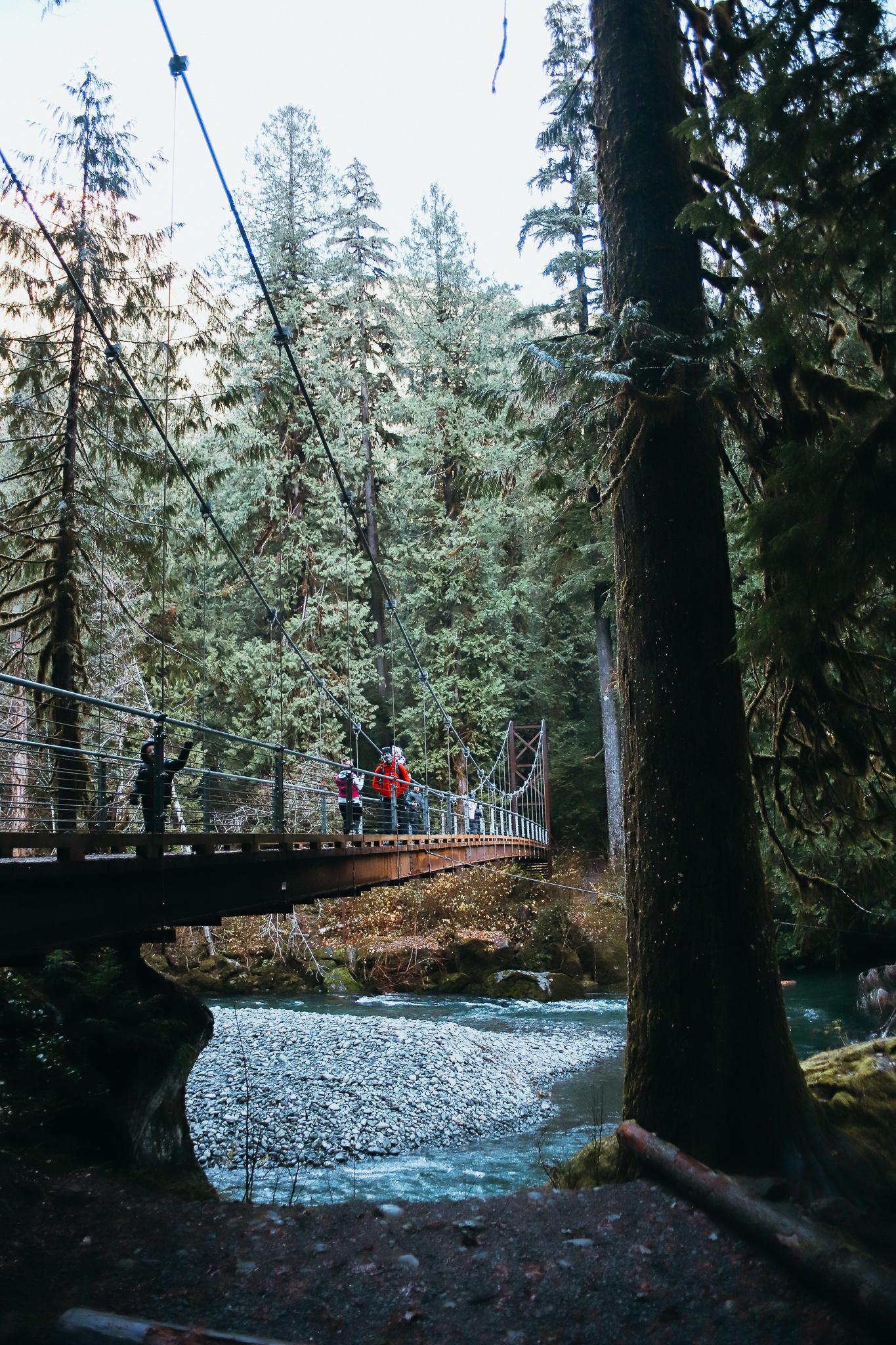 best bridge hikes wa