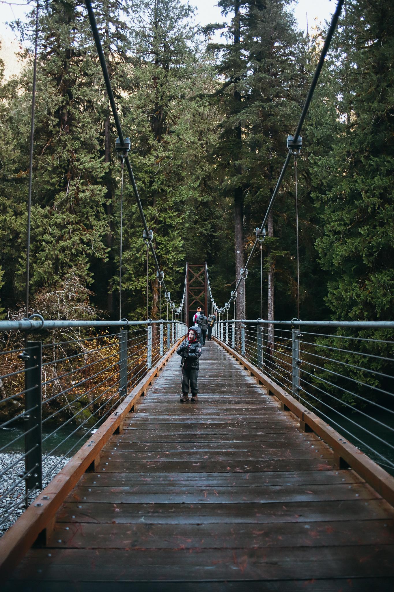 exploring the bridge
