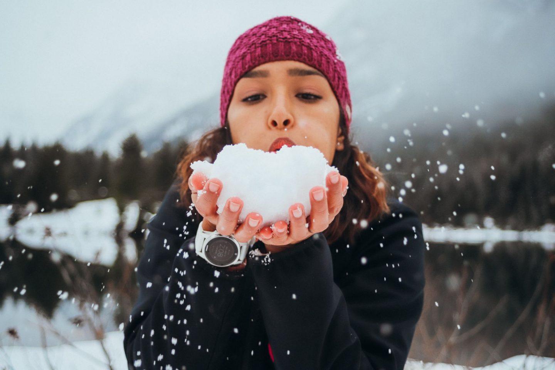 best snow photoshoots