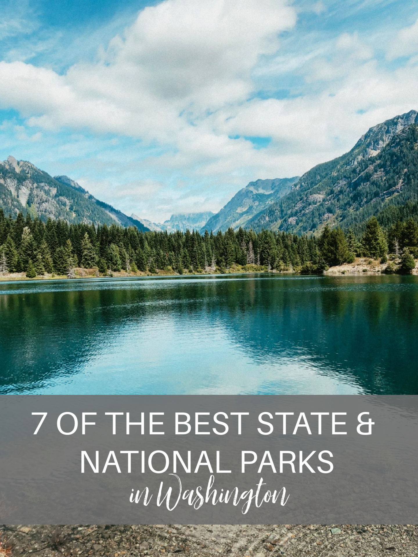 best state and national parks in washington