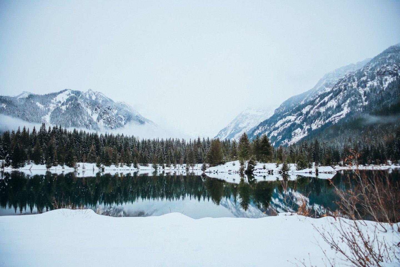 winter gold creek pond