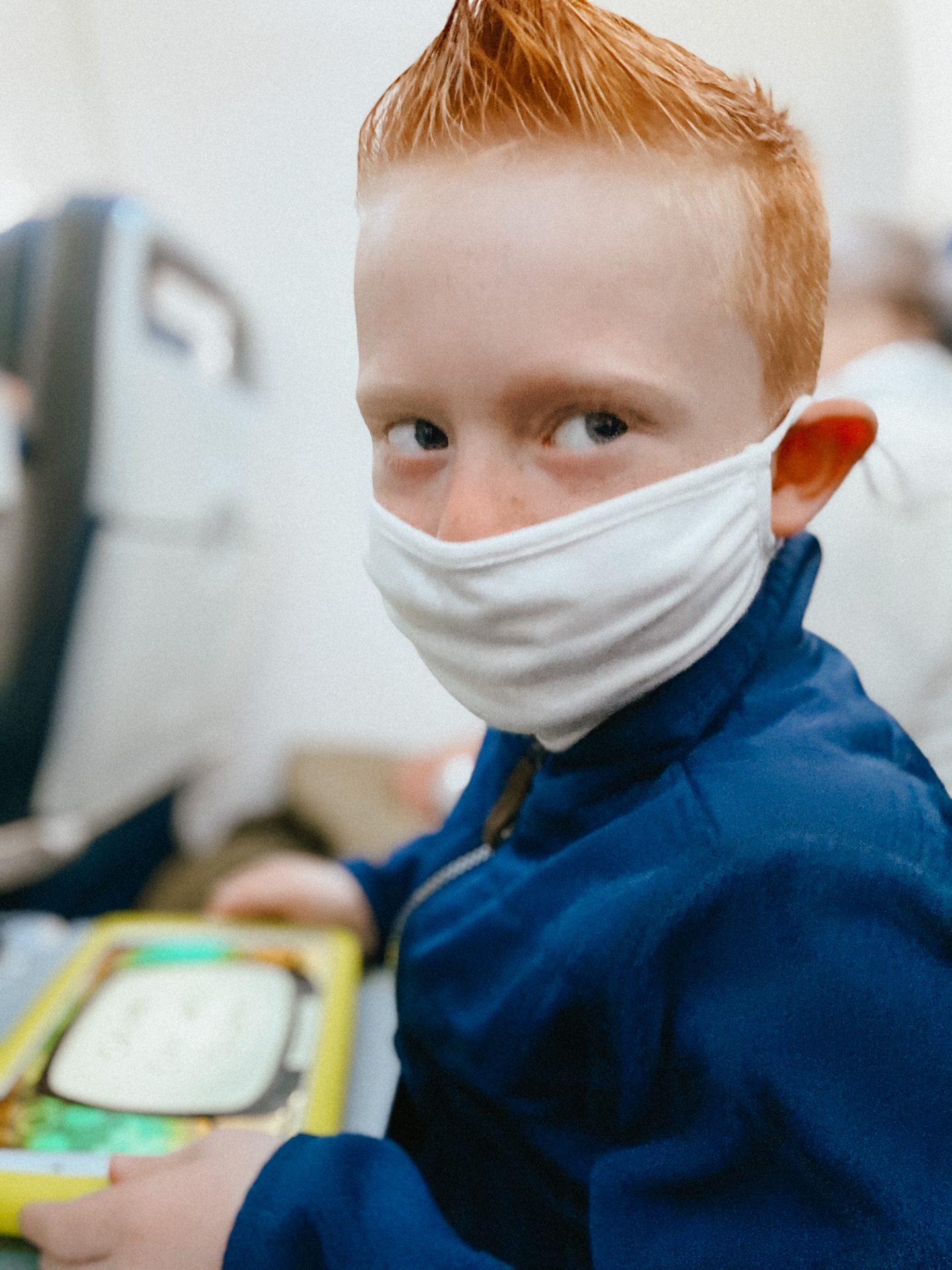 kids masked travel