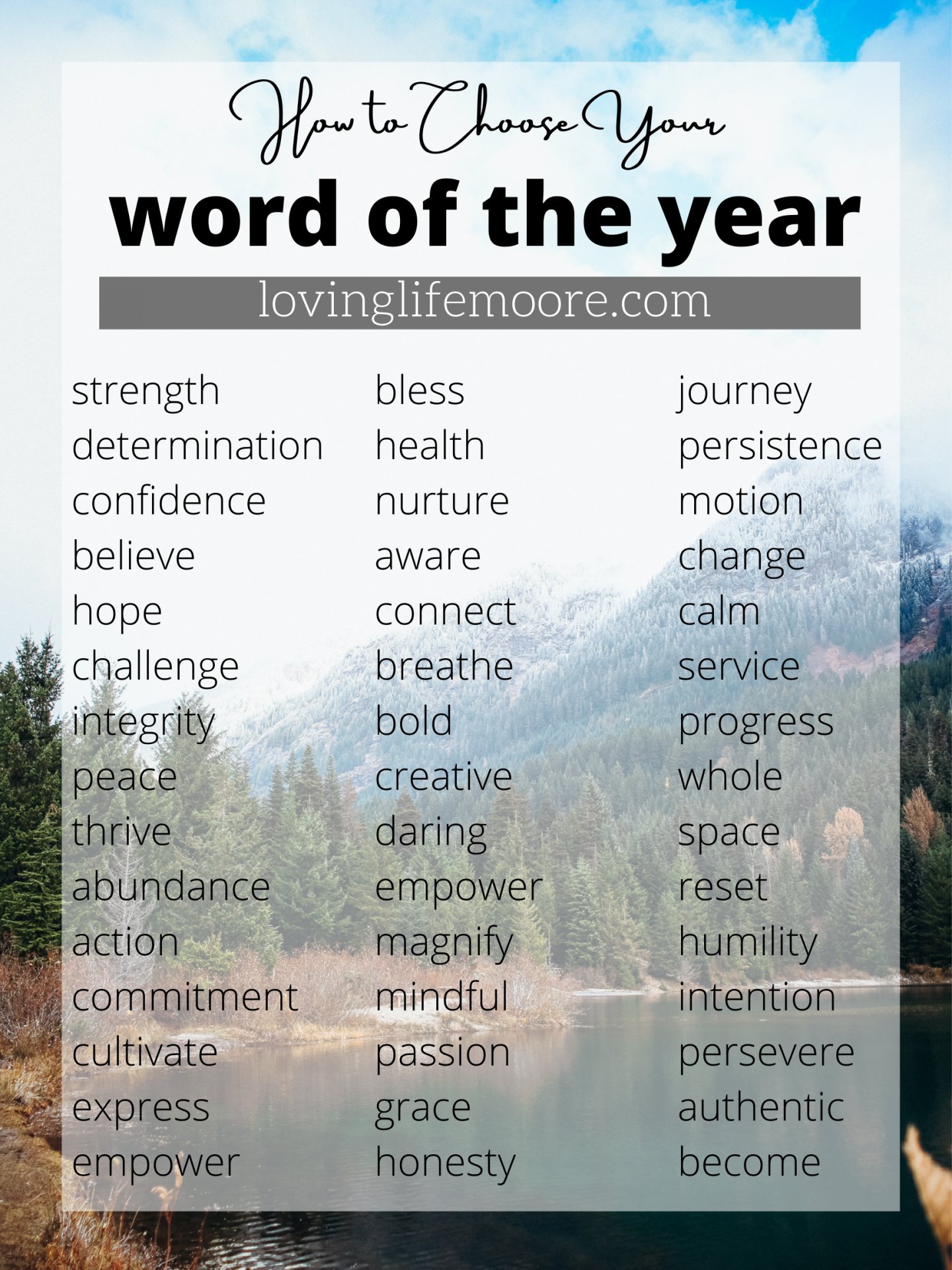 word of the year list