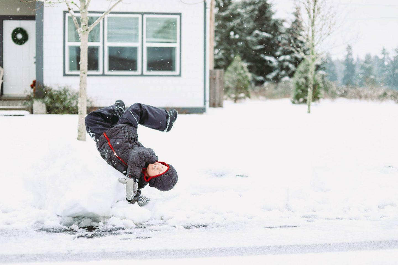snow day jblm