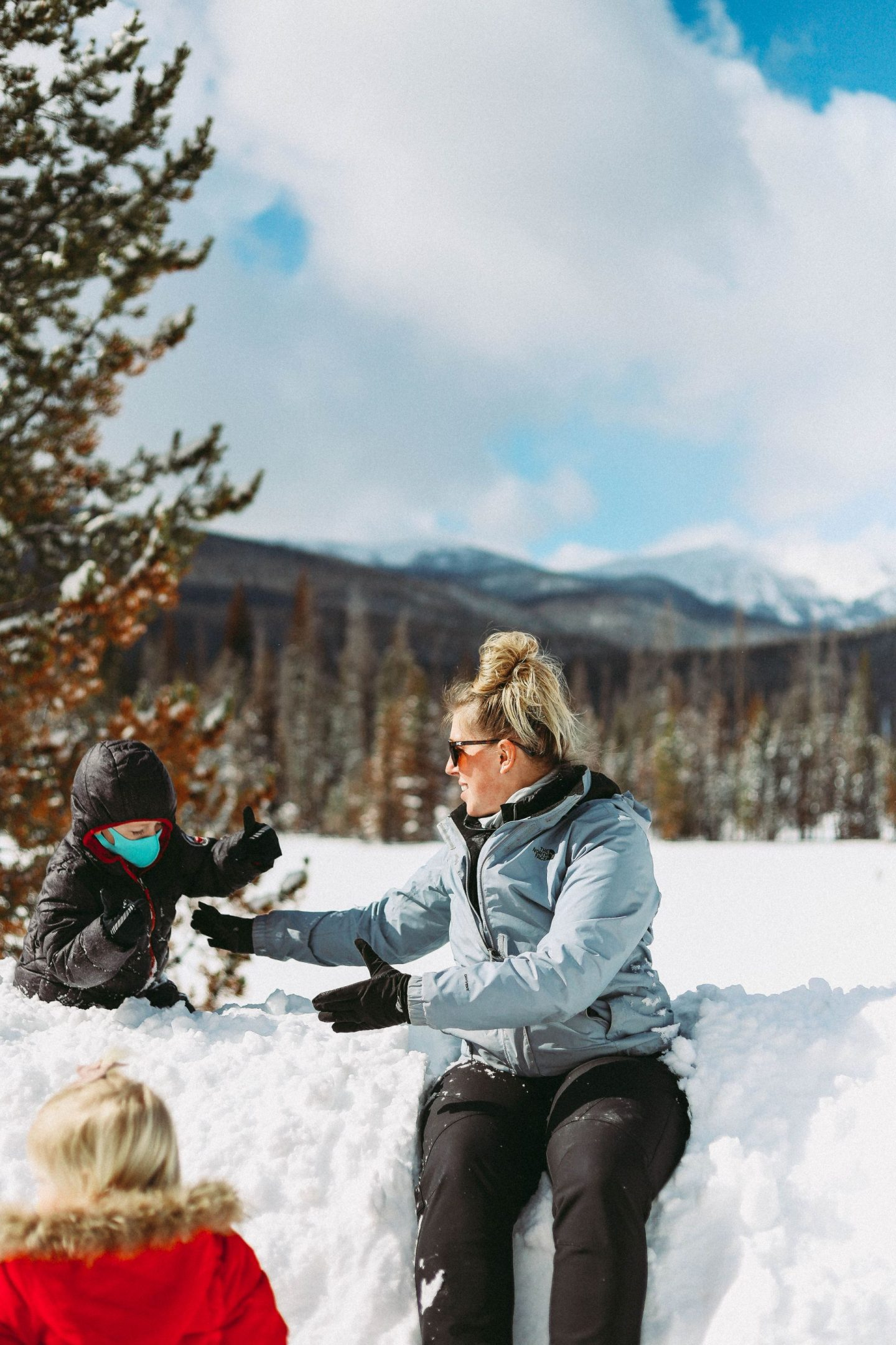 snow play rocky mountain national park