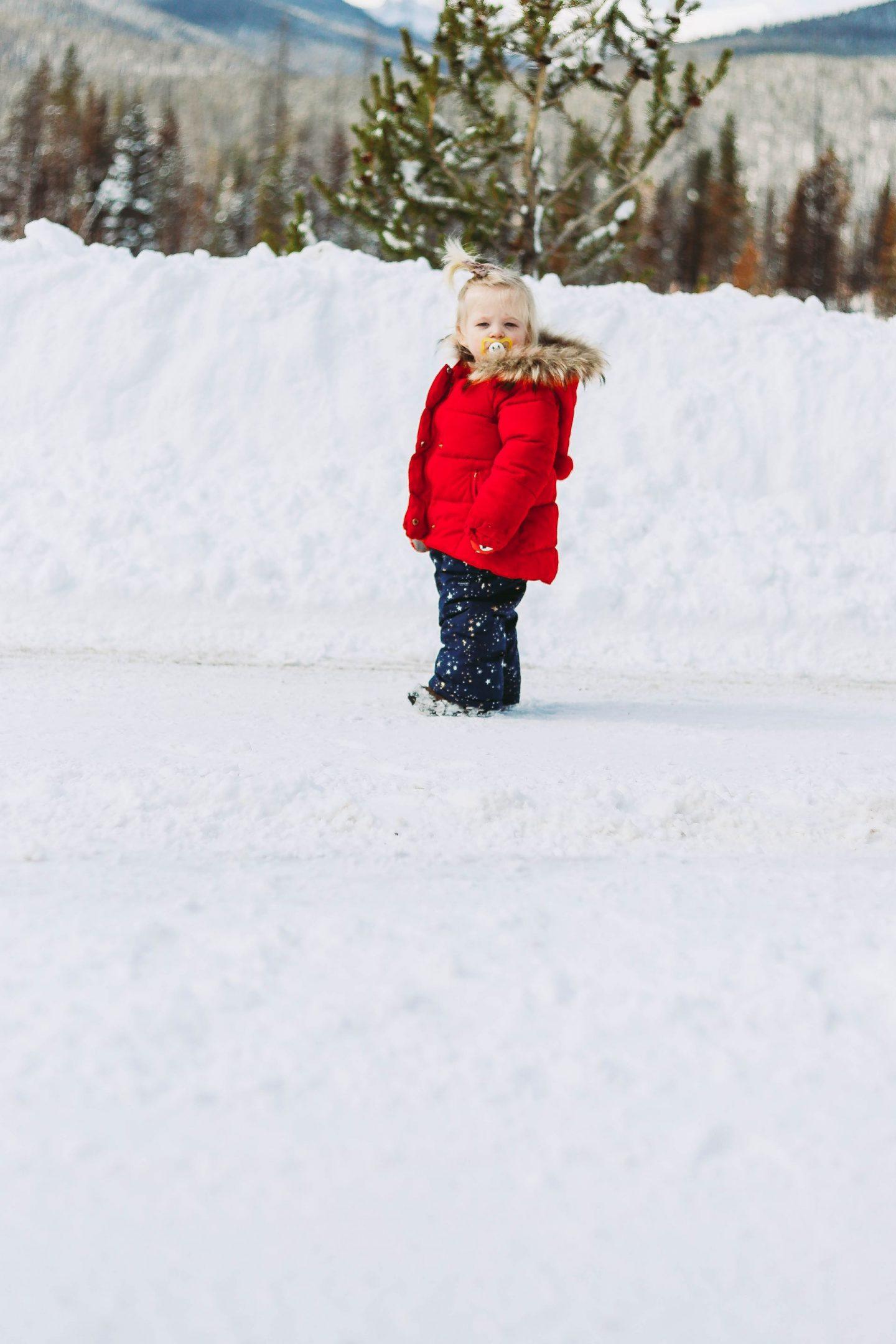 winter snow baby