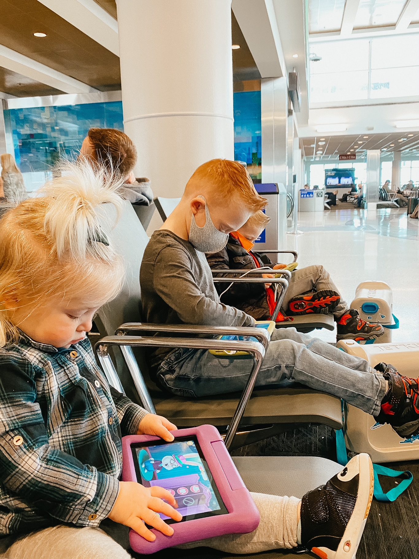 covid travel with kids