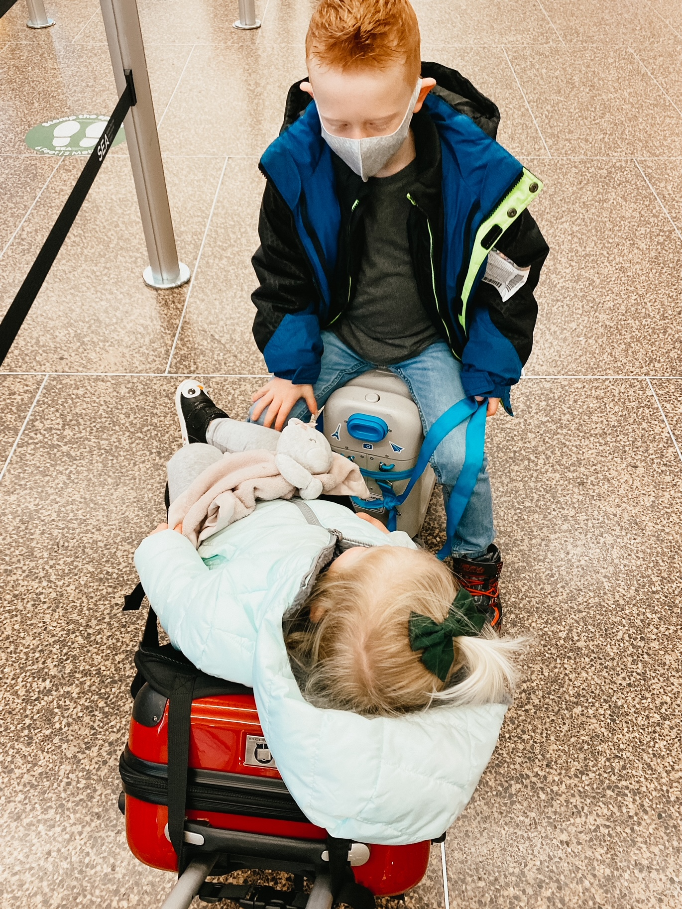 tips for traveling with kids during the pandemic