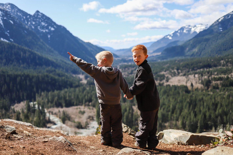 best hikes with kids jblm