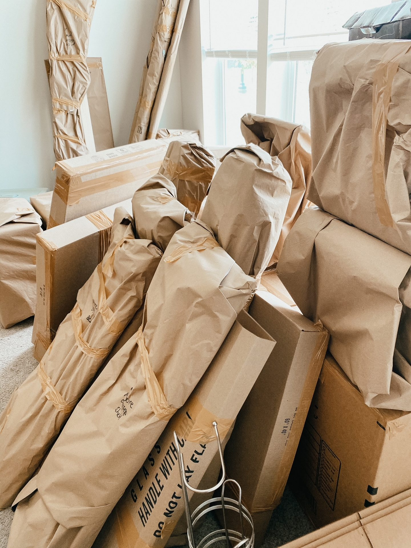 moving household goods