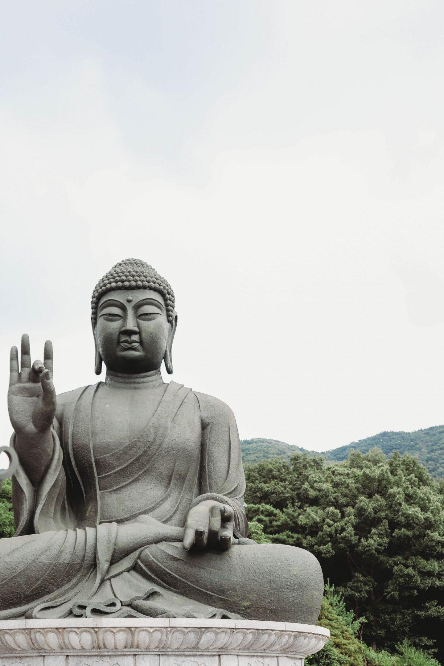amita-bul largest buddha statue south korea