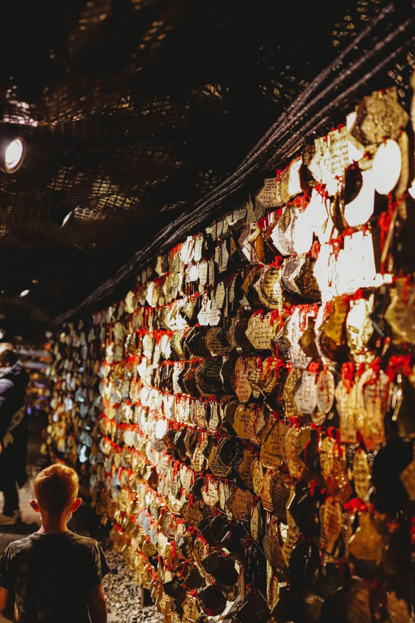 gwangmyeong cave exhibits