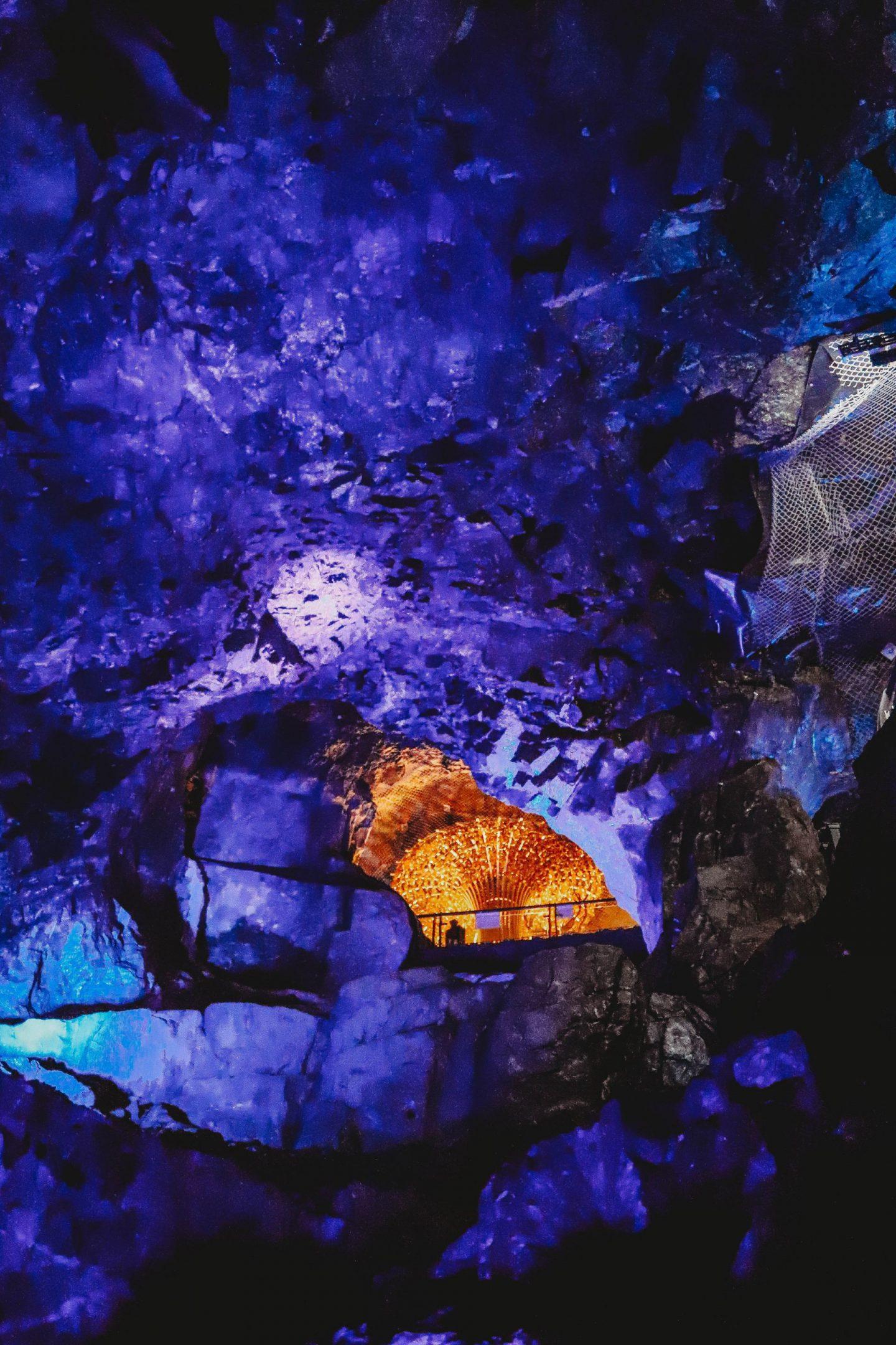 inside gwangmyeong cave