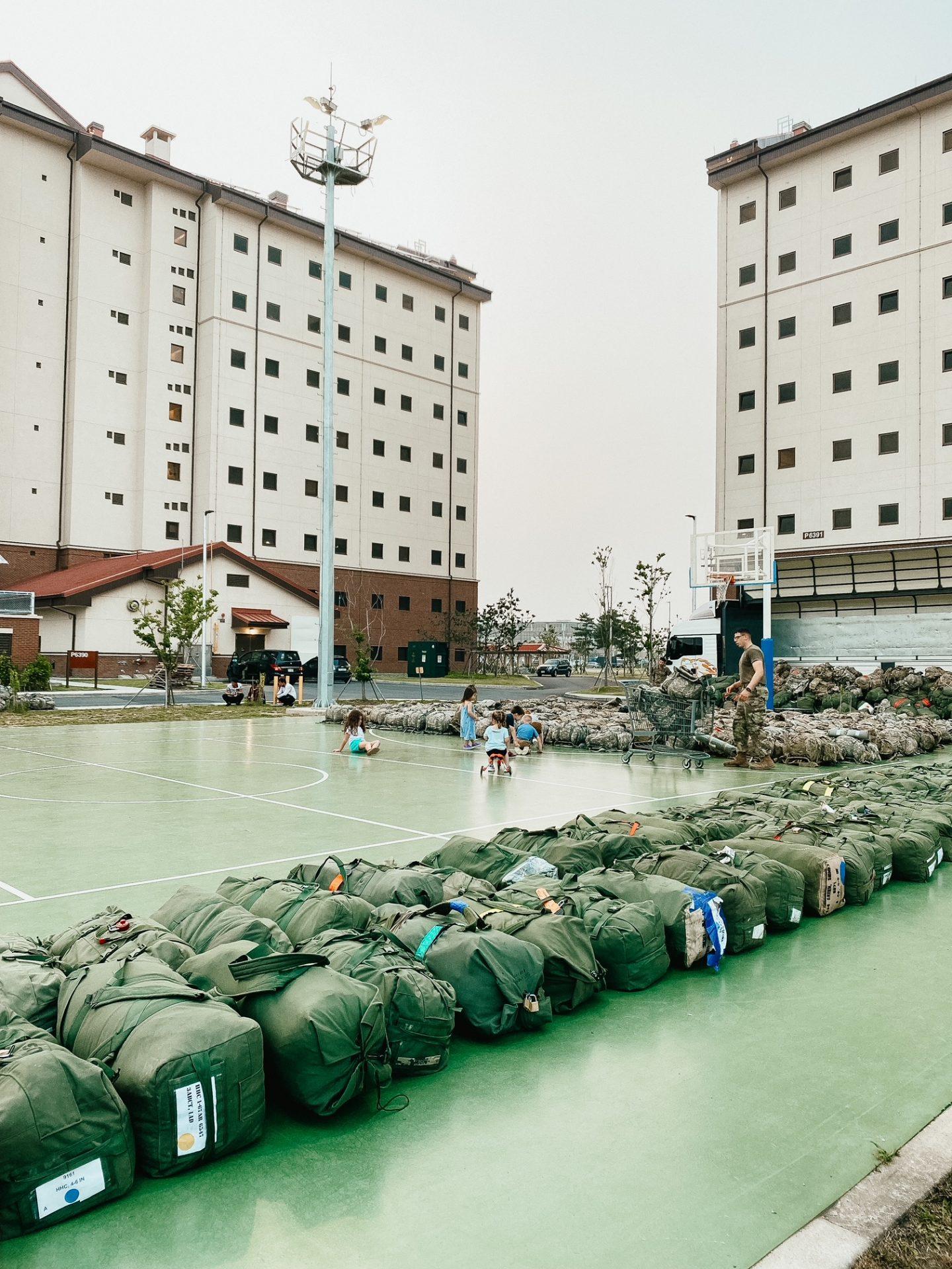 what is quarantine like at camp humphreys