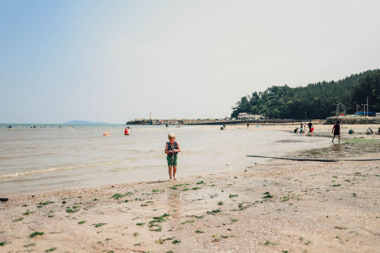 kid friendly beaches korea