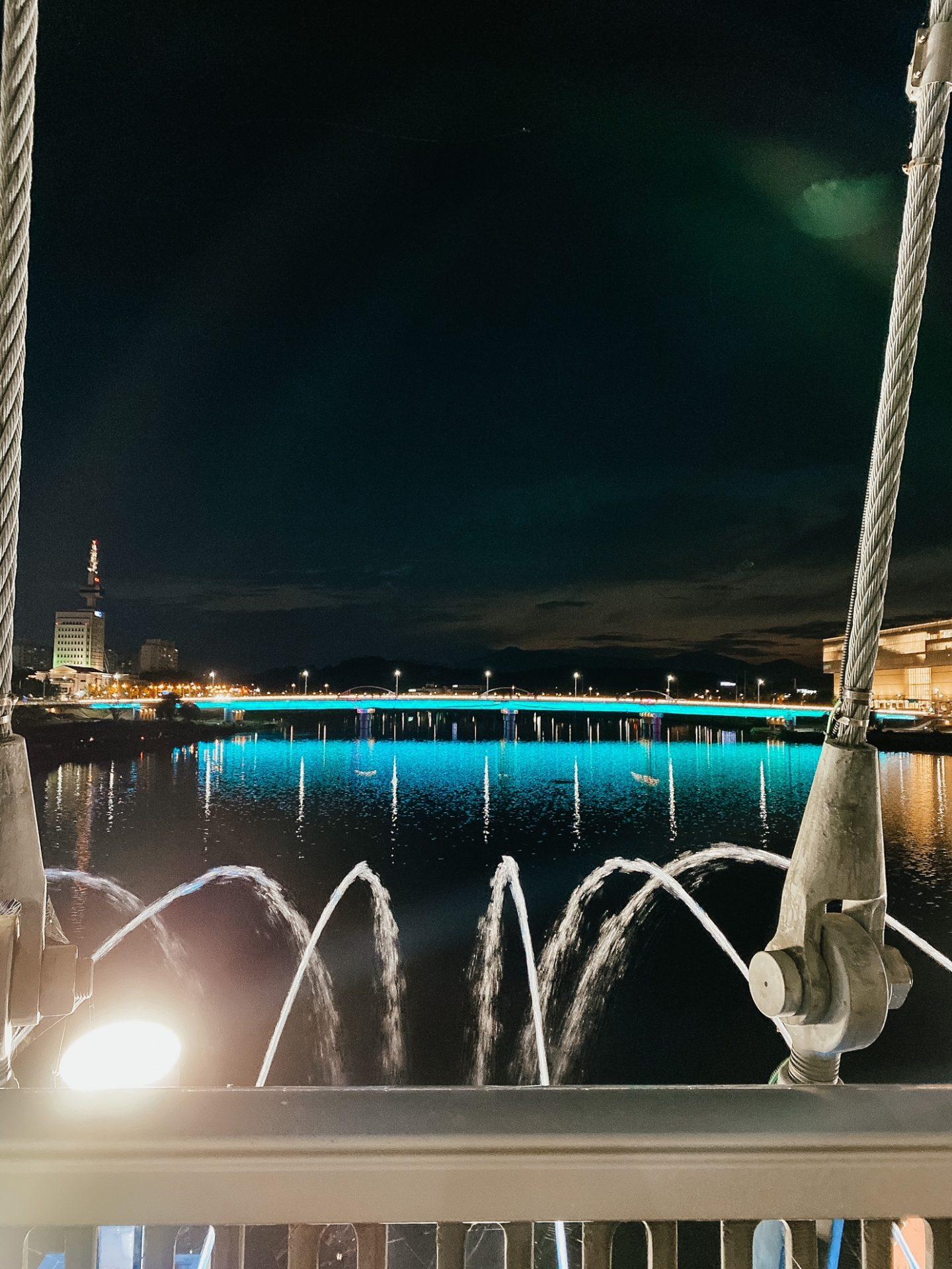 daejeon expo bridge lights