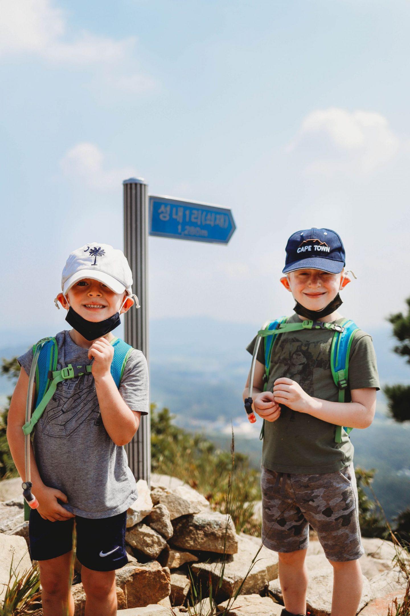 kids who hike korea