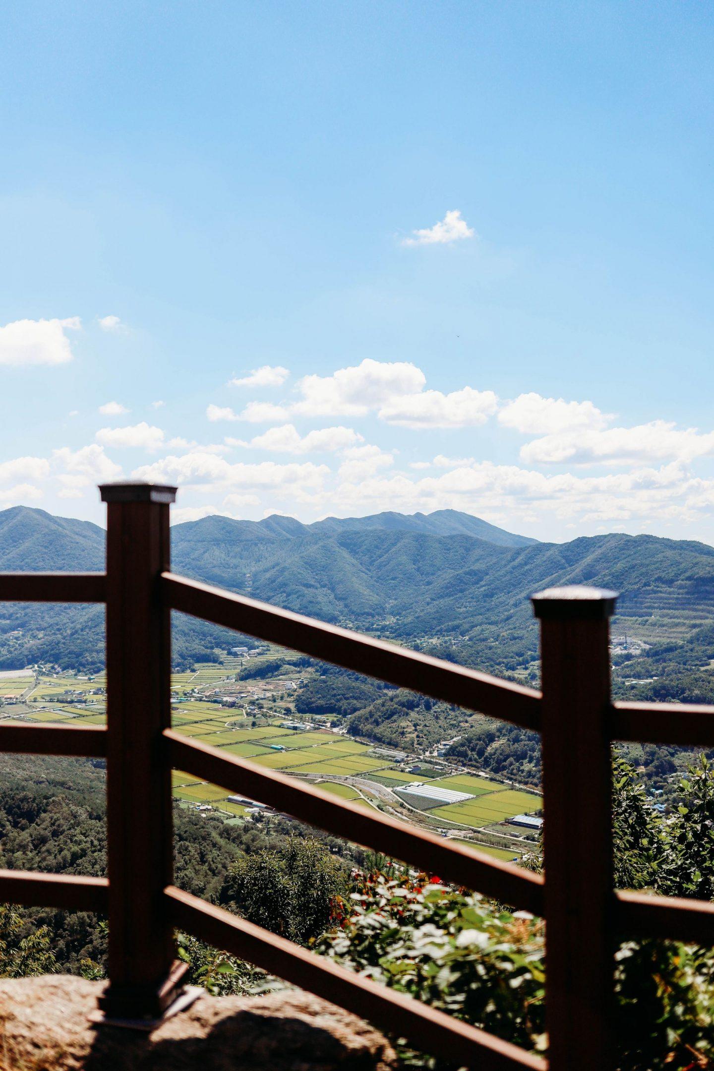 baebang mountain loop near asan
