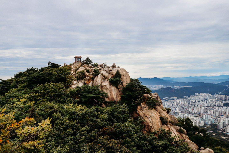 podaeneungseon ridge south korea