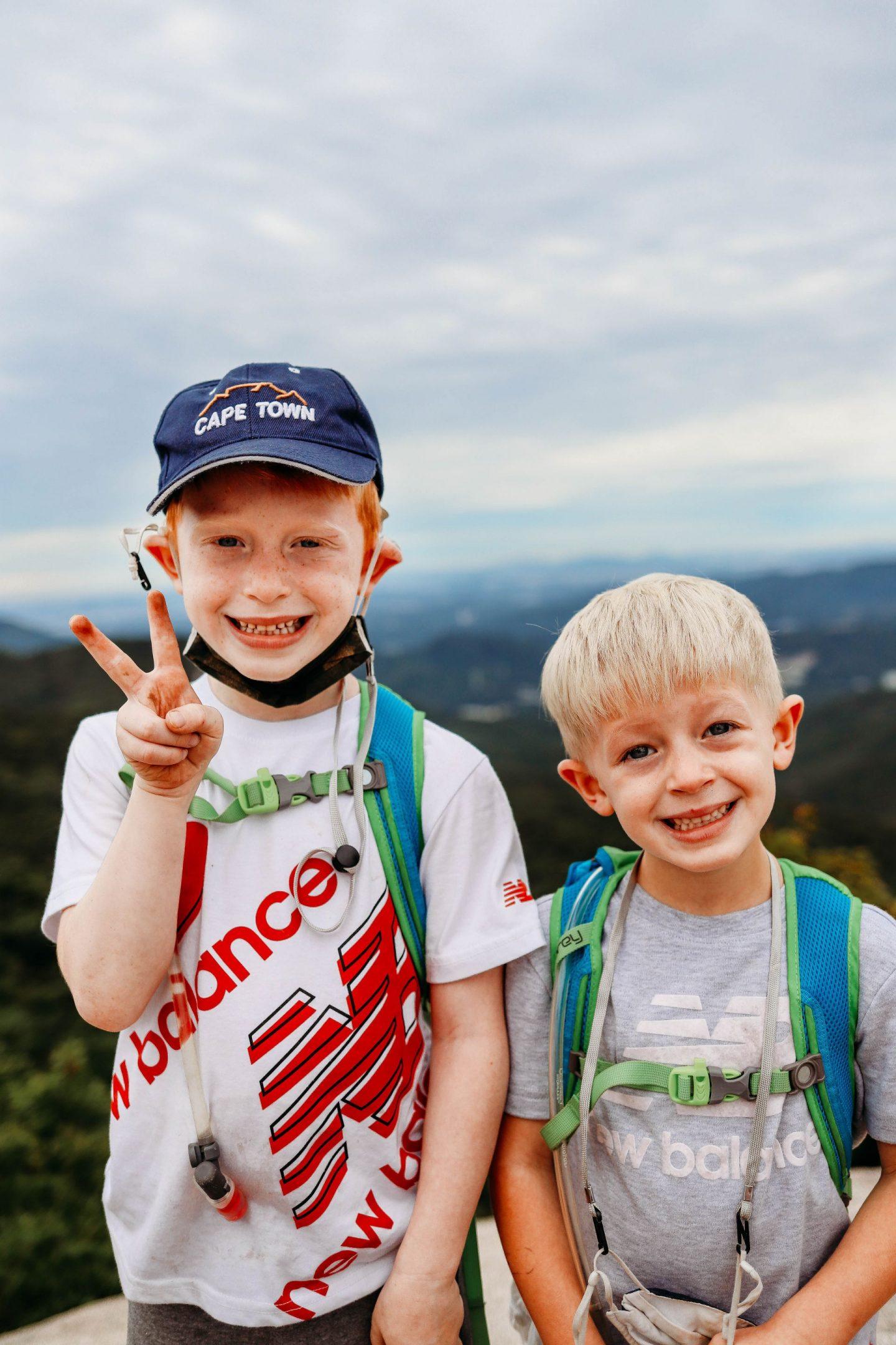 kids who hike