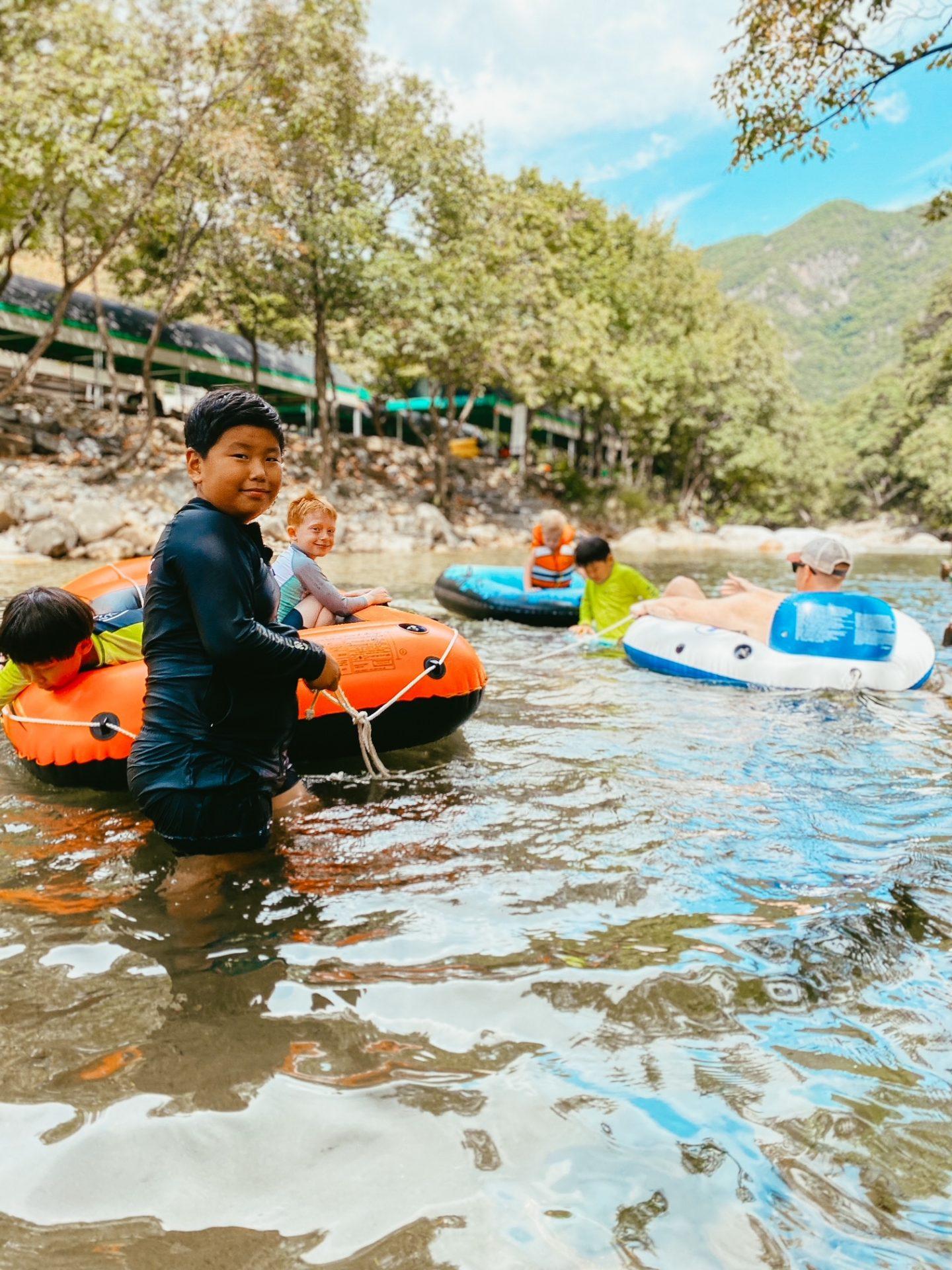 river in songnisan national park