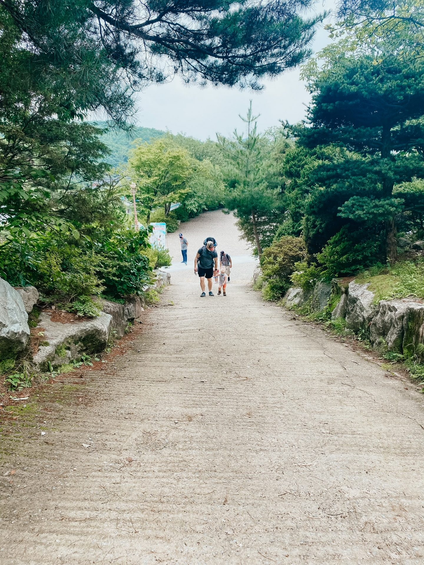 hiking gakwonsa temple